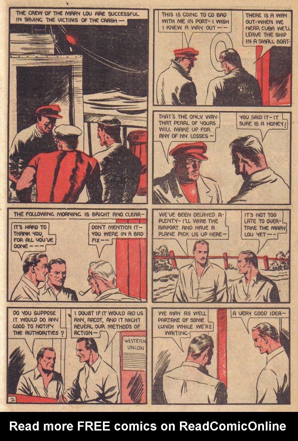 Read online Adventure Comics (1938) comic -  Issue #24 - 25