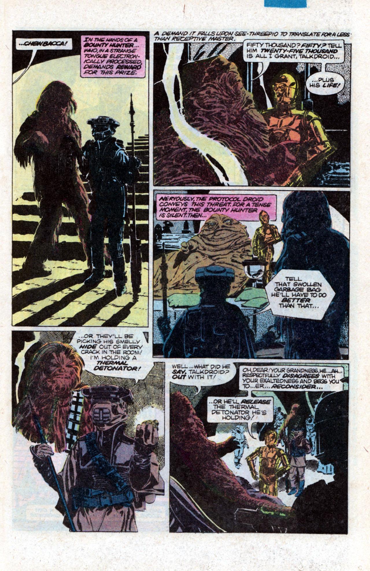 Read online Star Wars: Return of the Jedi comic -  Issue #1 - 13