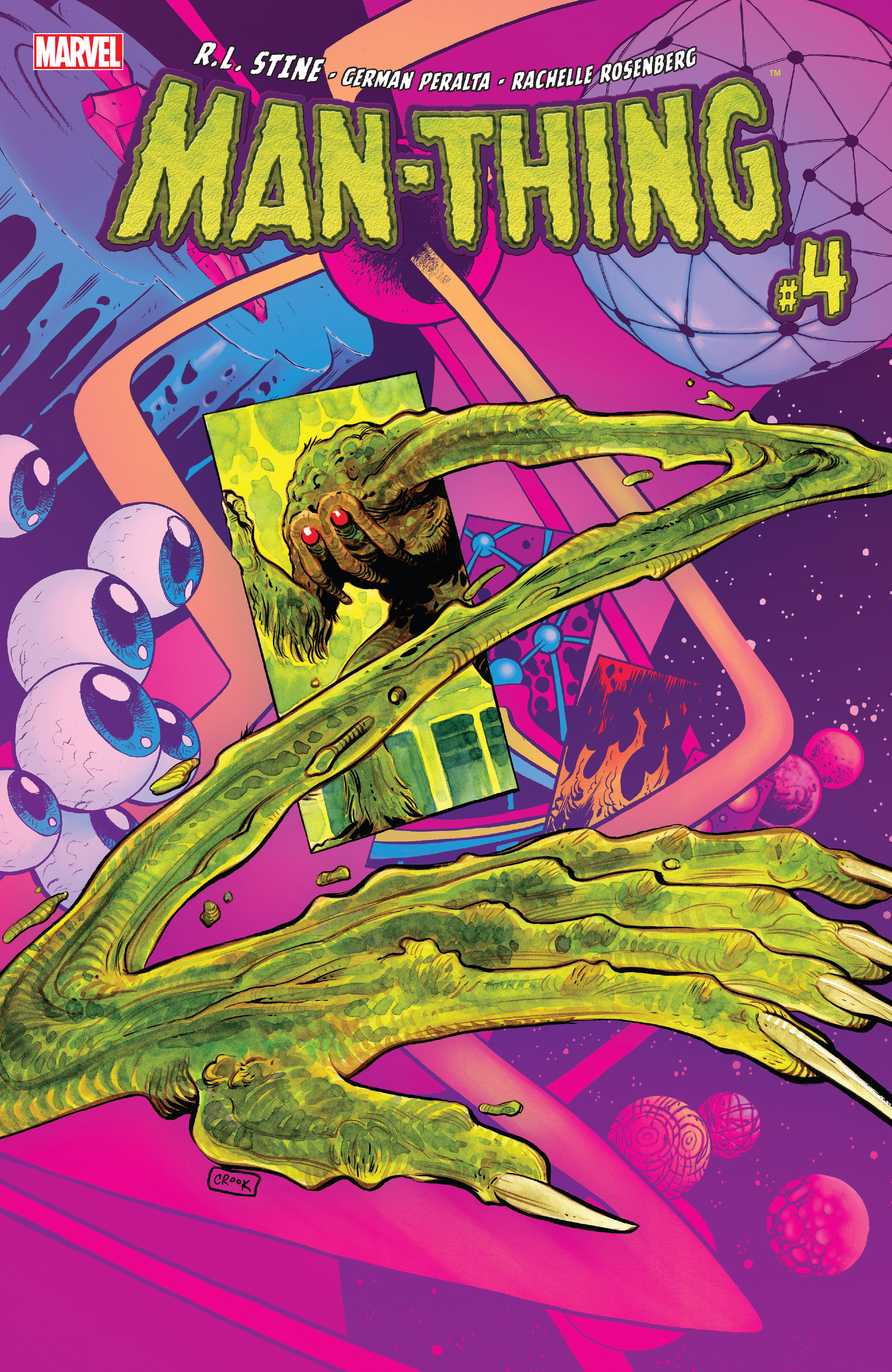 Read online Man-Thing (2017) comic -  Issue #4 - 1
