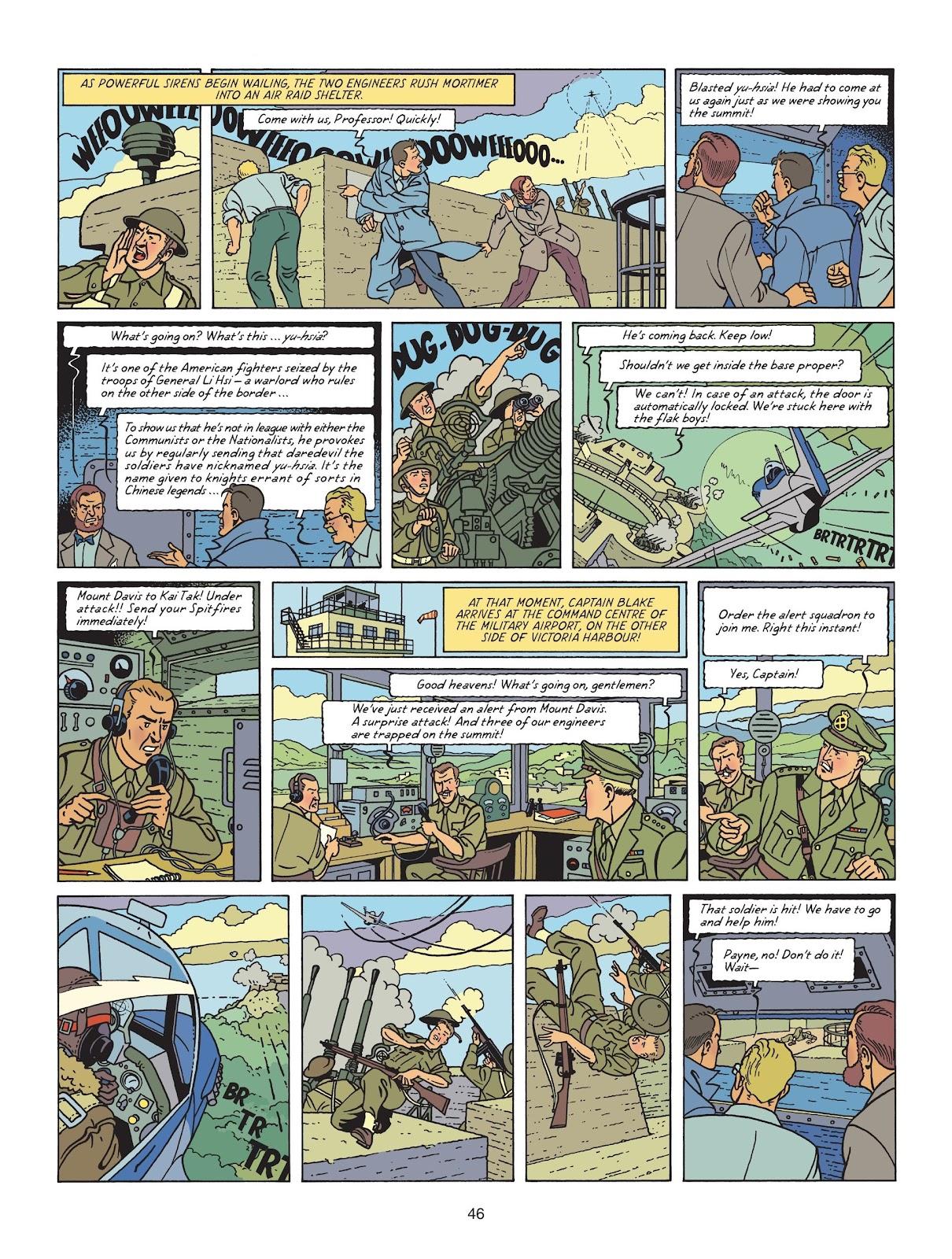 Read online Blake & Mortimer comic -  Issue #25 - 48