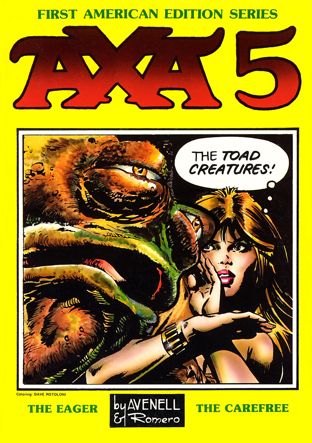 Axa issue 5 - Page 1