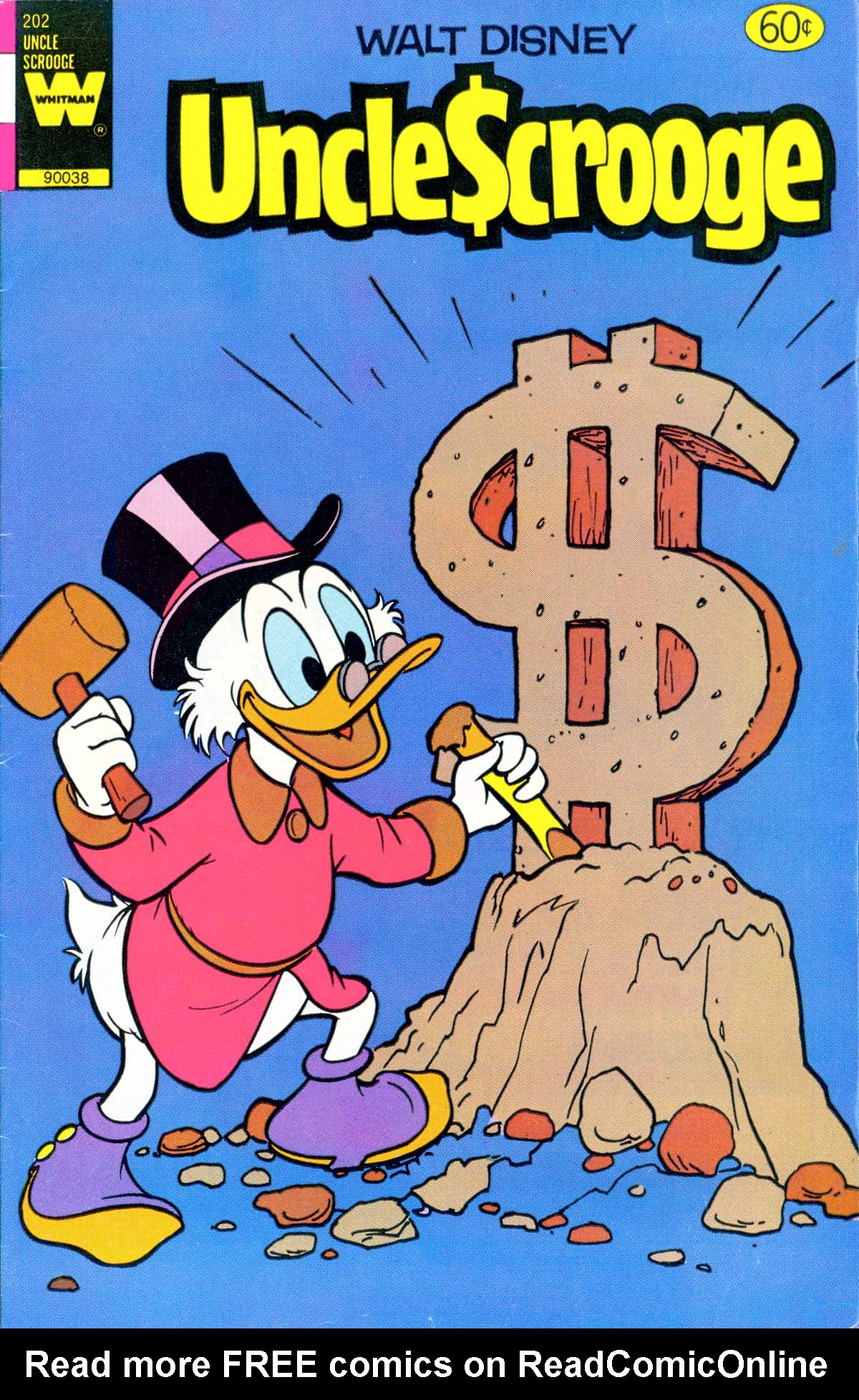 Read online Uncle Scrooge (1953) comic -  Issue #202 - 1