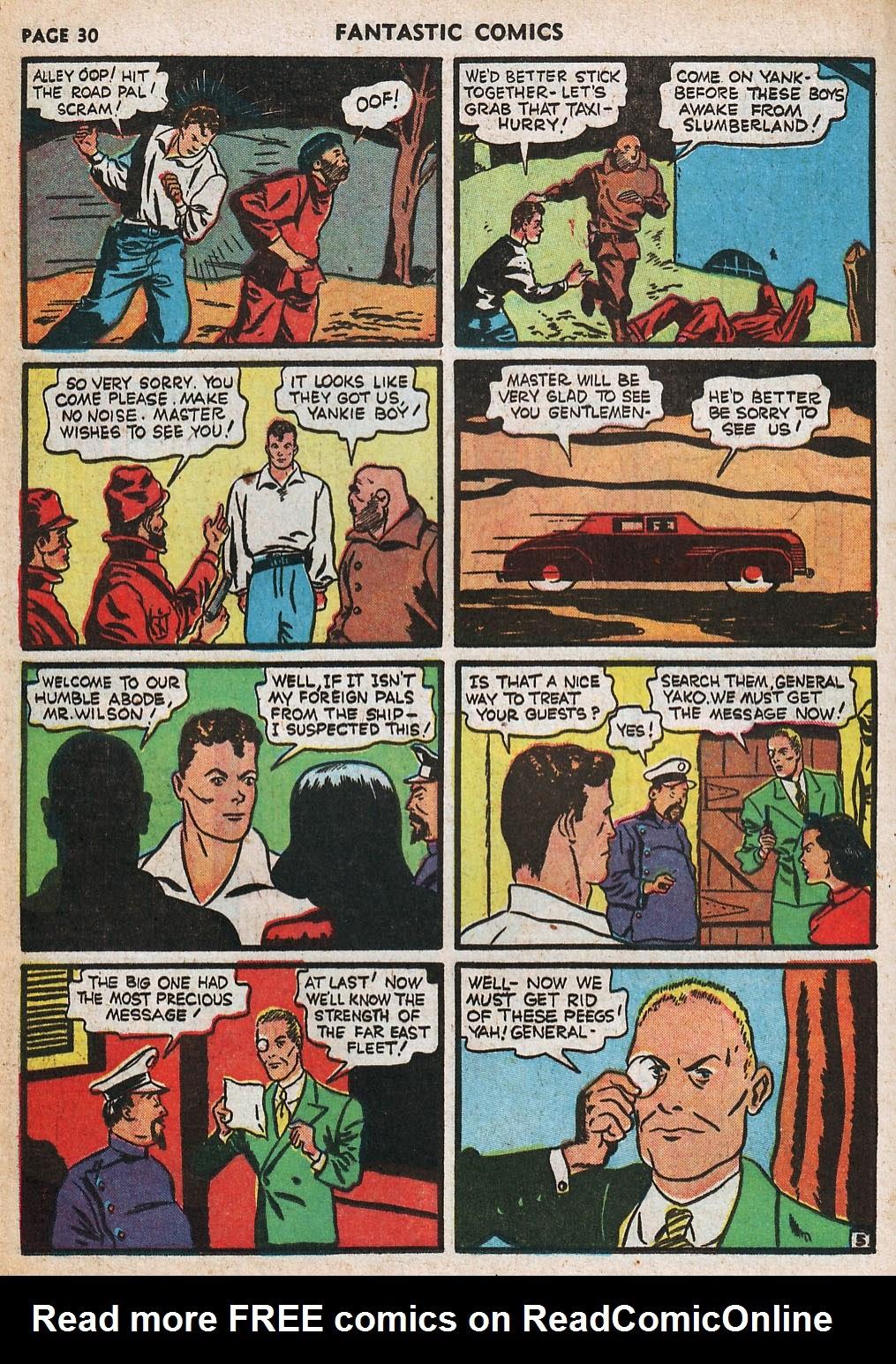 Read online Fantastic Comics comic -  Issue #20 - 31