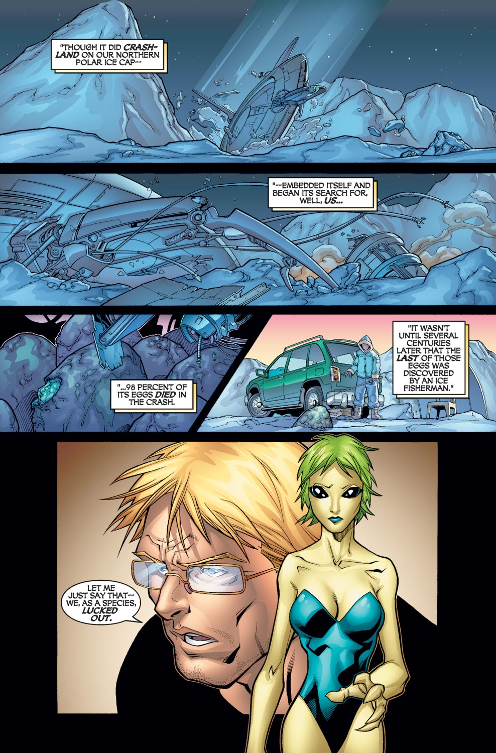 Alpha Flight (2004) issue 3 - Page 19