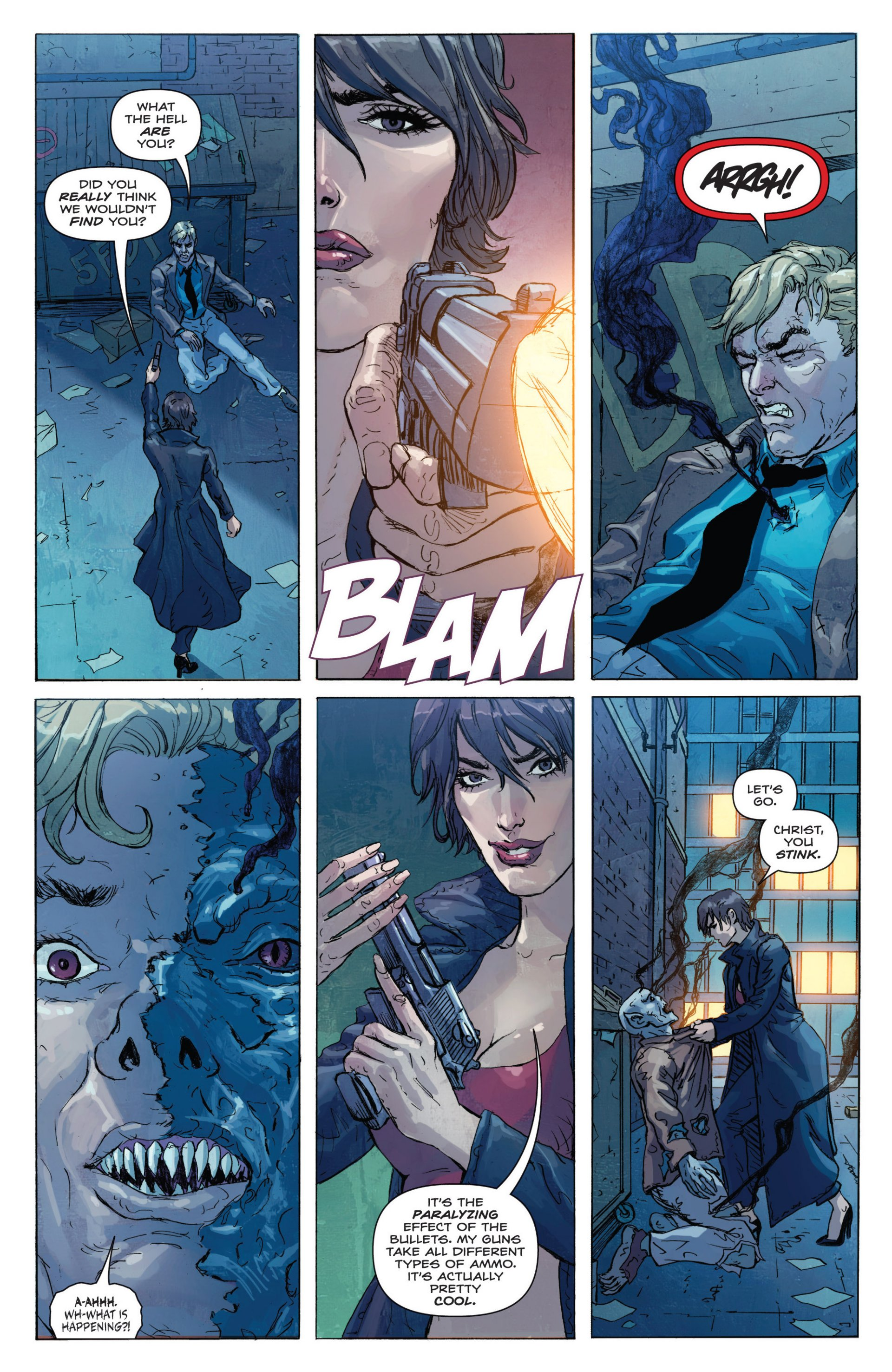 Read online Grimm Fairy Tales presents Inferno: Age of Darkness comic -  Issue # Full - 6
