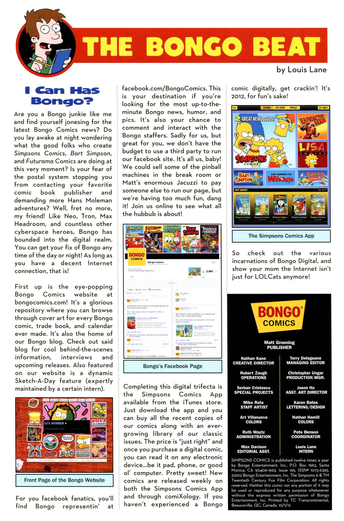 Read online Simpsons Comics comic -  Issue #195 - 28