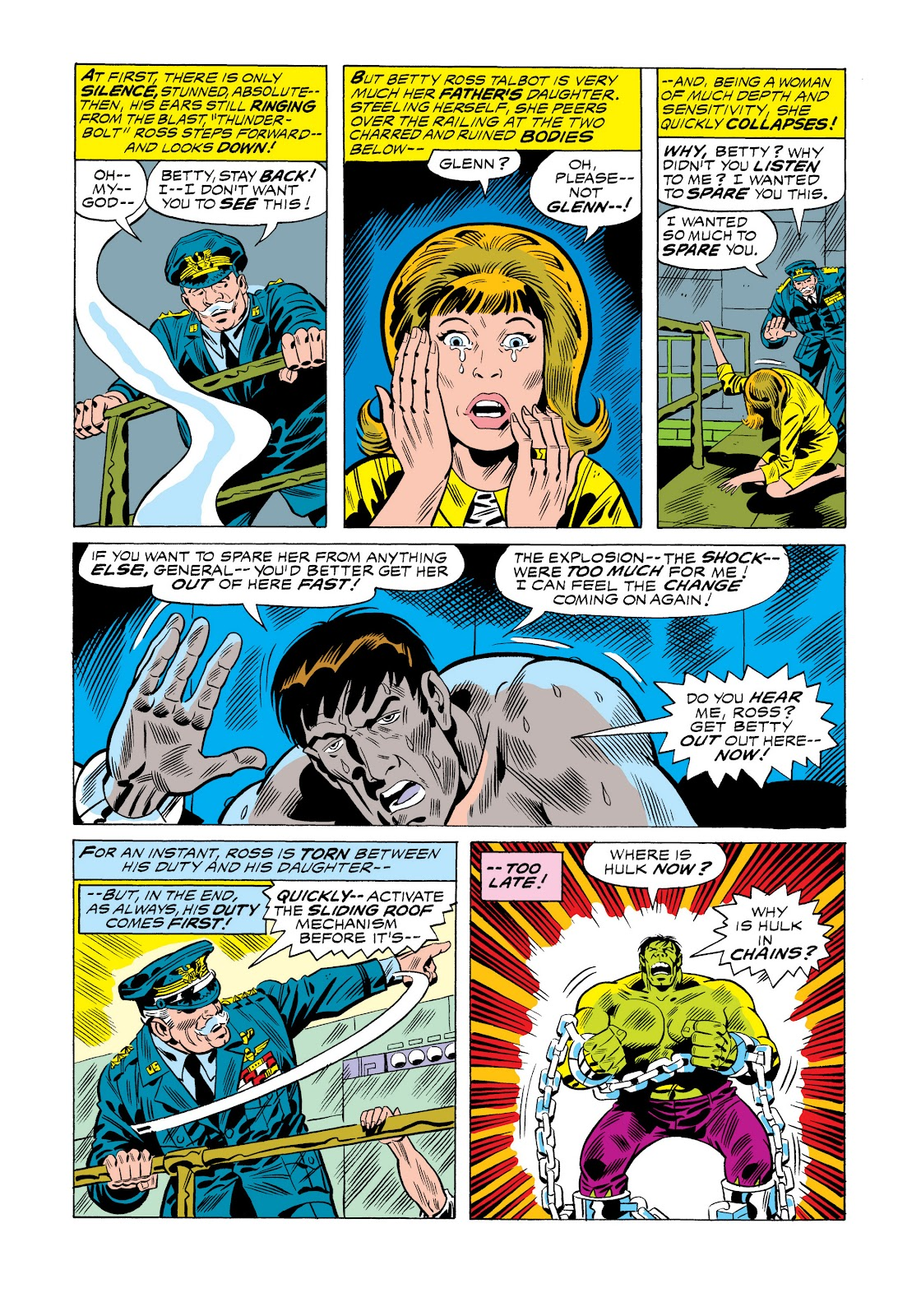 Read online Marvel Masterworks: The Incredible Hulk comic -  Issue # TPB 11 (Part 1) - 36