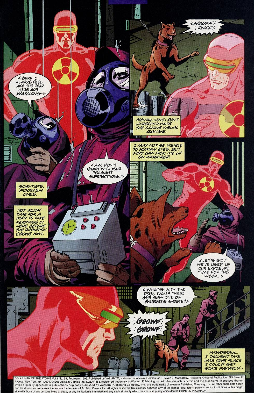 Read online Solar, Man of the Atom comic -  Issue #58 - 4