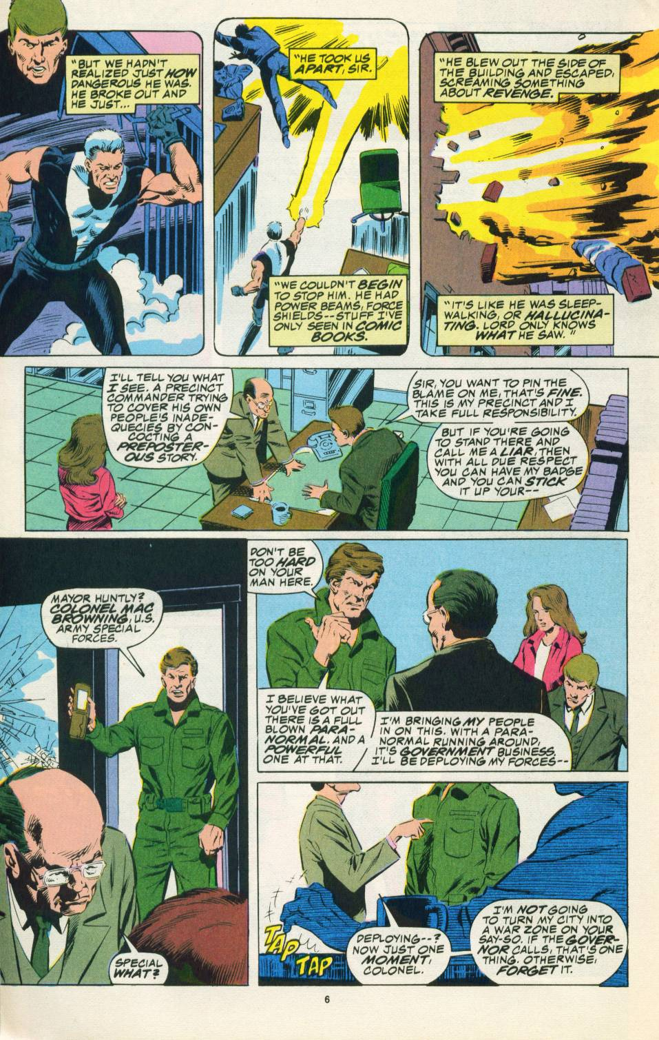 Read online Justice (1986) comic -  Issue #22 - 7