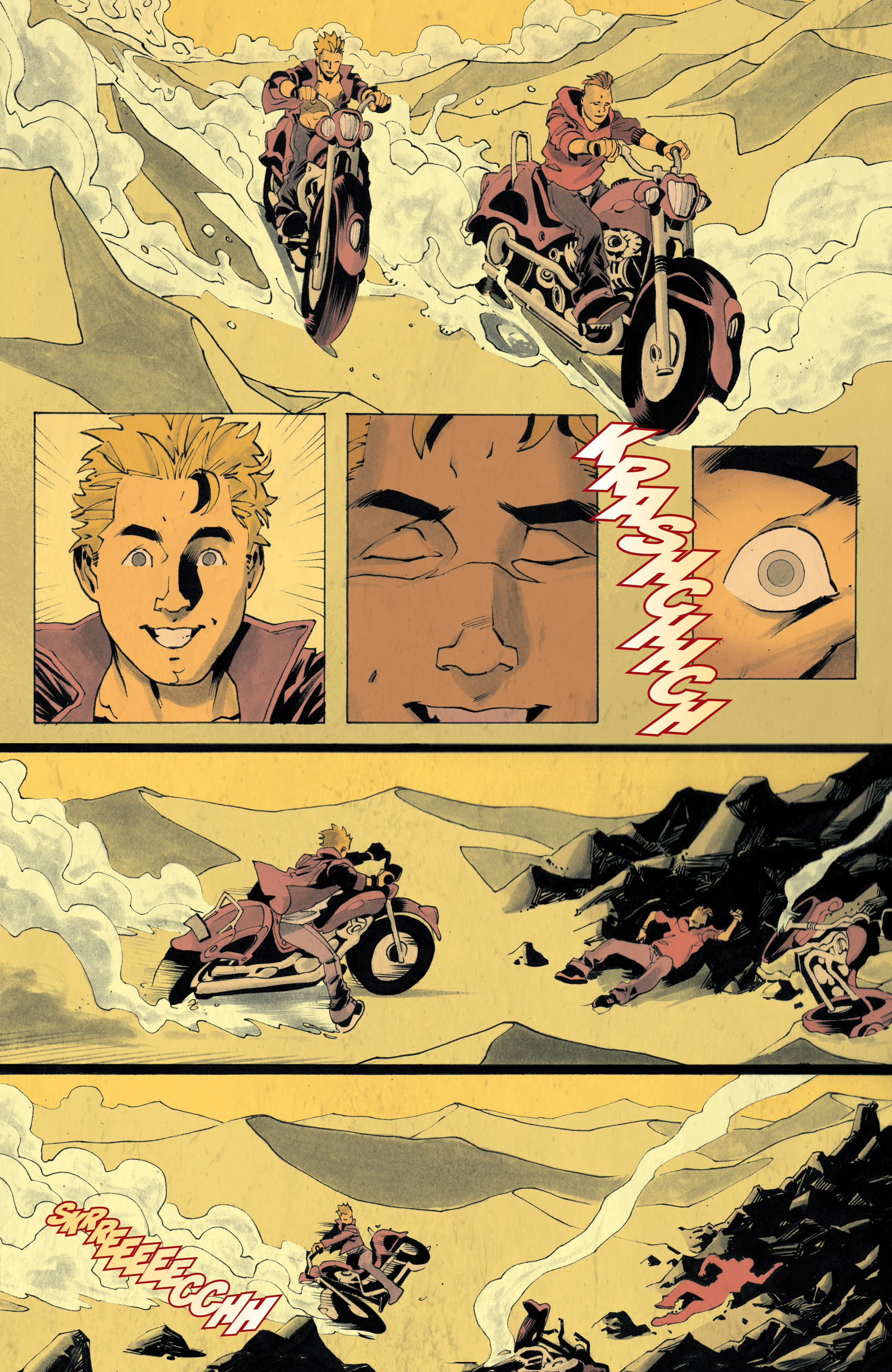 Read online Sons of Anarchy: Redwood Original comic -  Issue #4 - 10