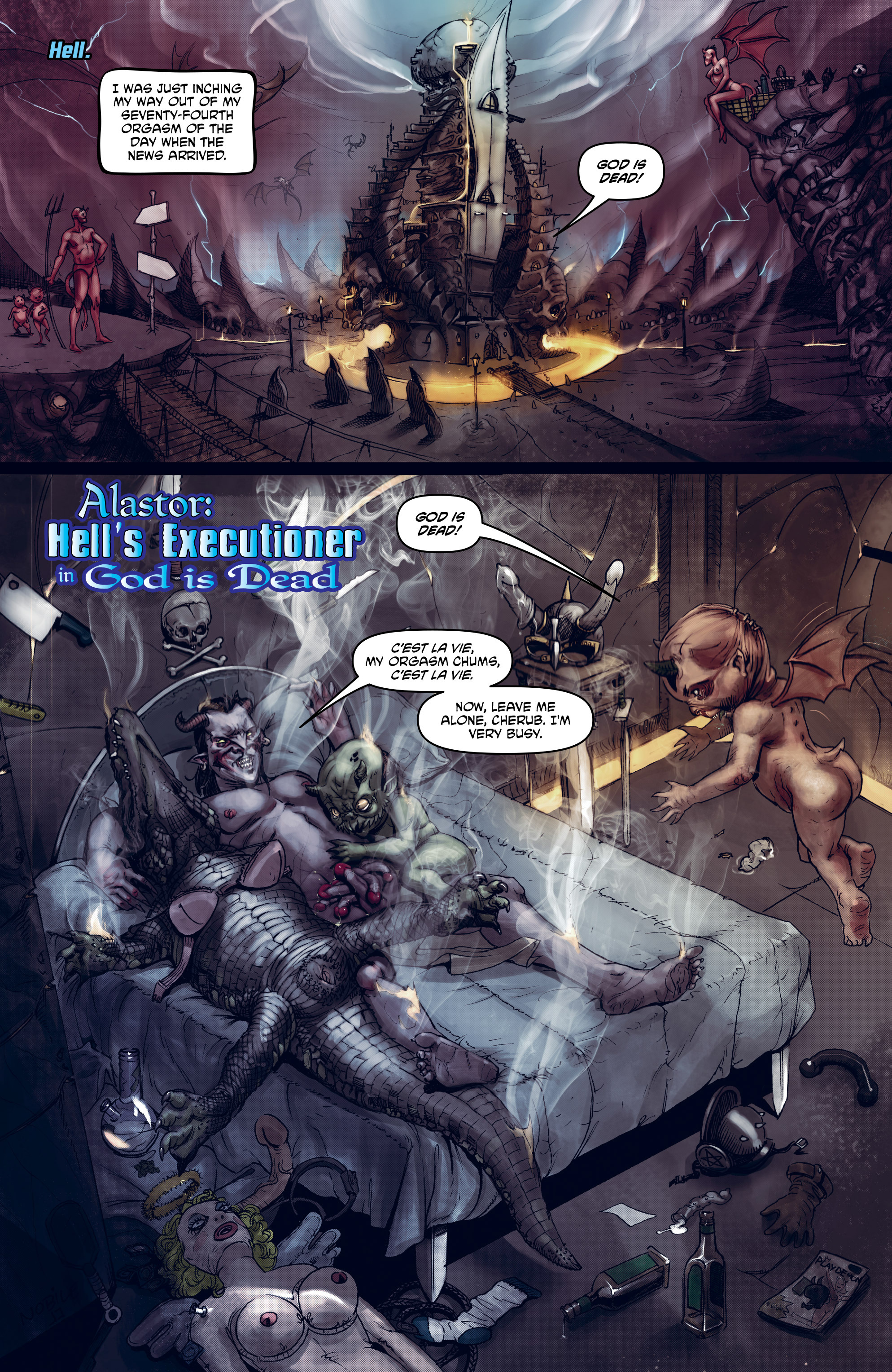 Read online God is Dead: Book of Acts comic -  Issue # Omega - 25