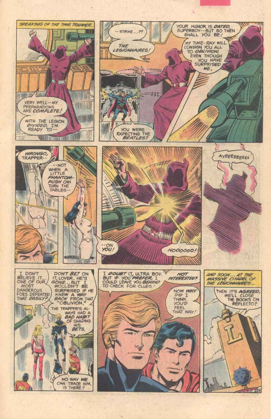 Legion of Super-Heroes (1980) 282 Page 25