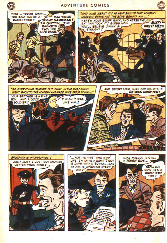 Read online Adventure Comics (1938) comic -  Issue #92 - 11