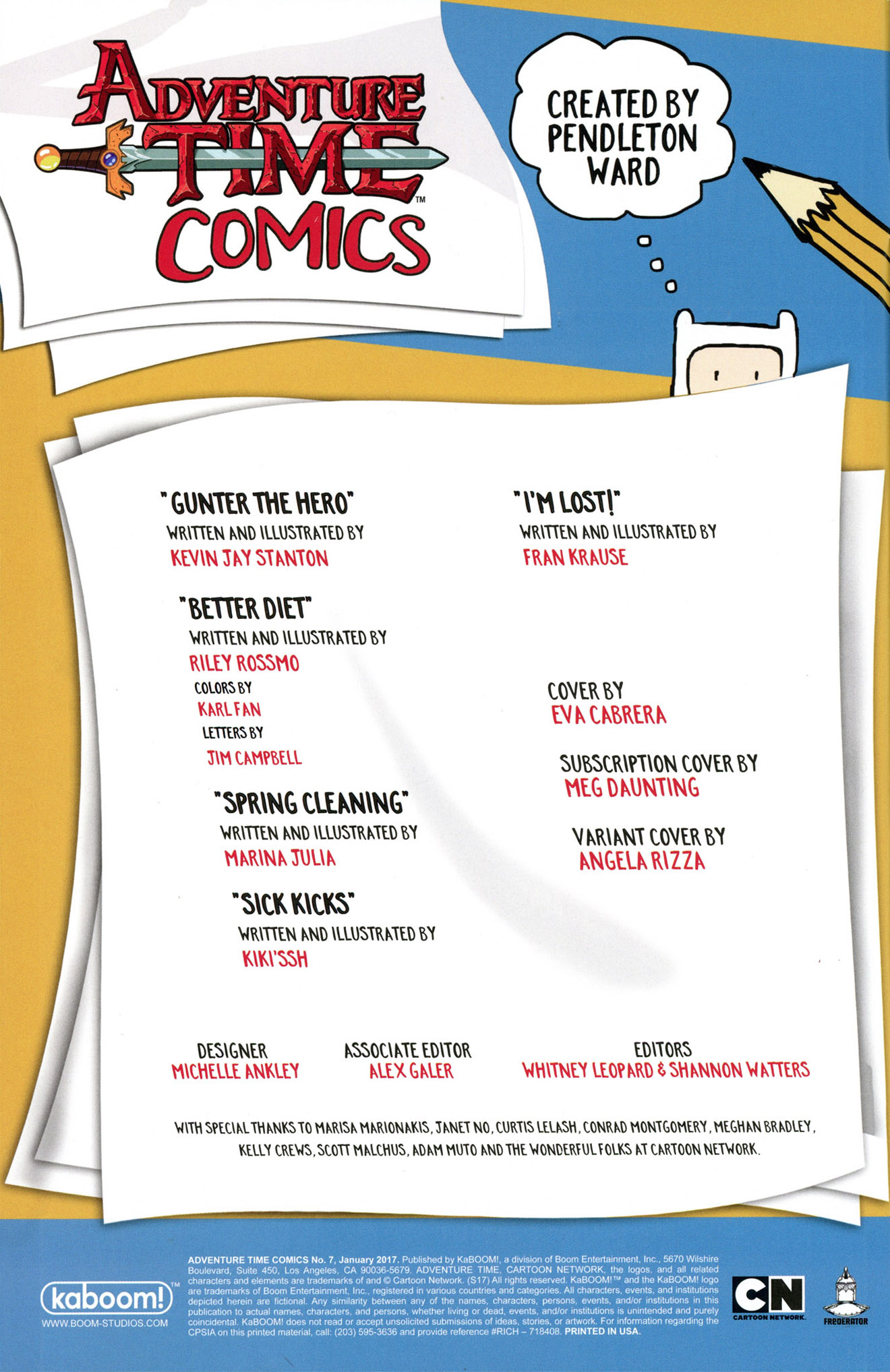 Read online Adventure Time Comics comic -  Issue #7 - 2