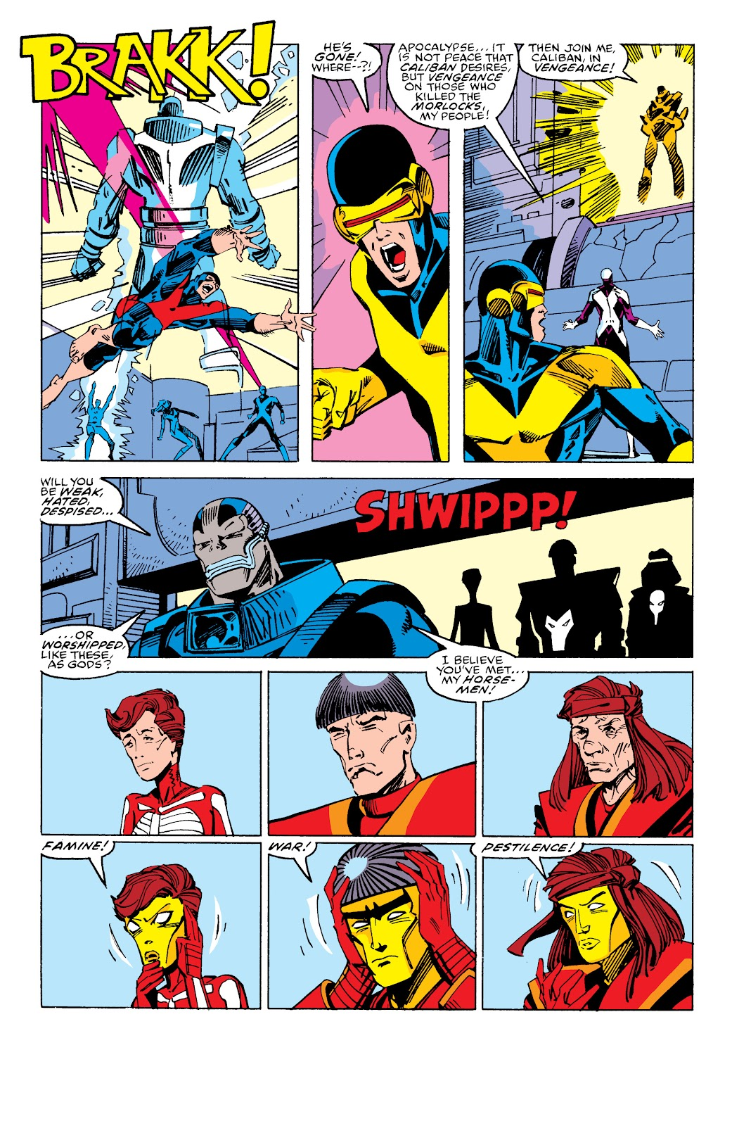 Read online X-Men Milestones: Fall of the Mutants comic -  Issue # TPB (Part 2) - 88