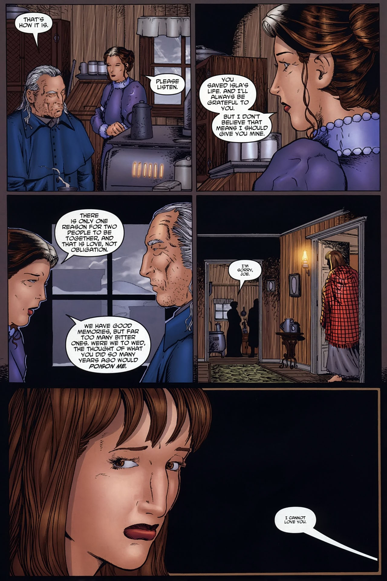 Read online Garth Ennis' Streets of Glory comic -  Issue #6 - 13