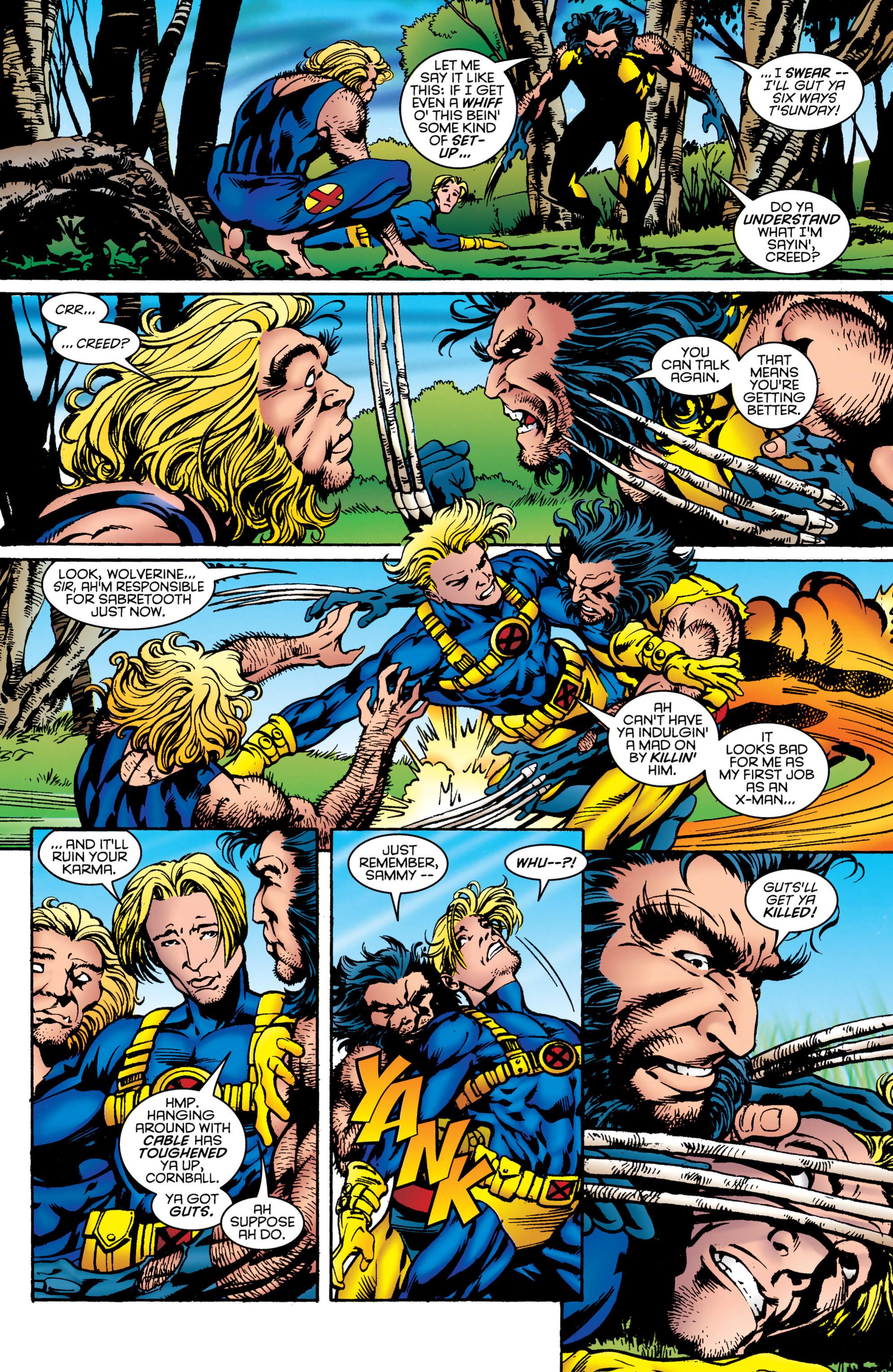 Read online Uncanny X-Men (1963) comic -  Issue #323 - 9