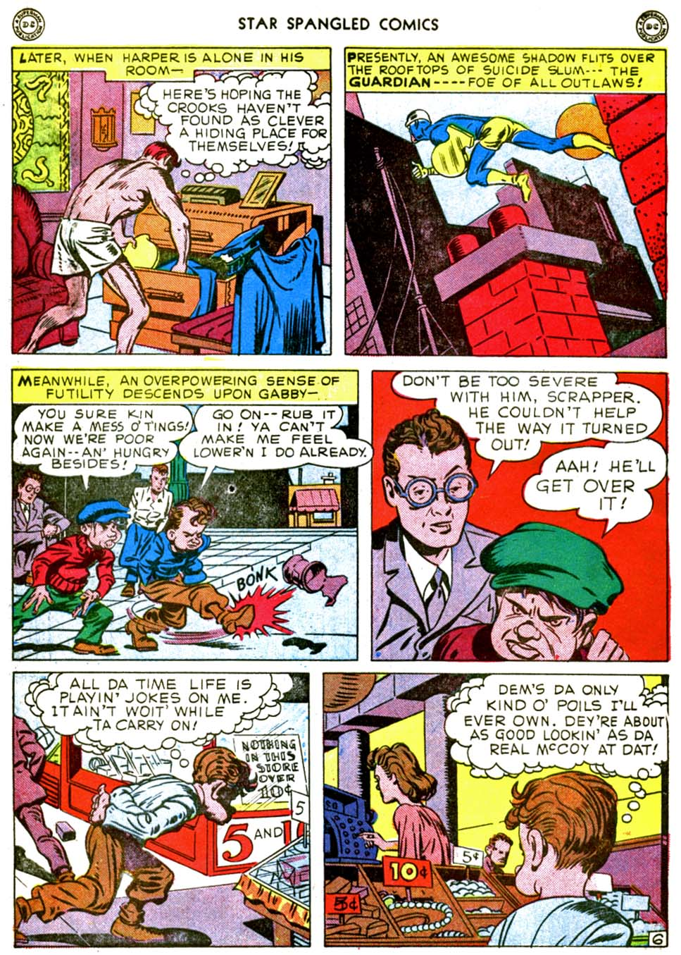 Star Spangled Comics (1941) issue 56 - Page 8