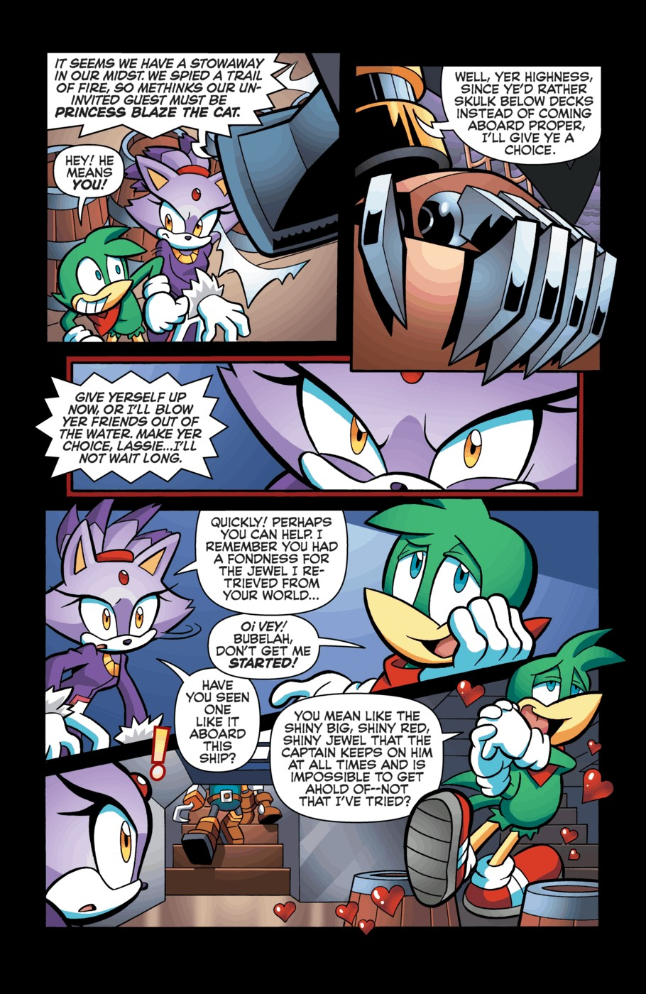 Read online Sonic Universe comic -  Issue #55 - 13