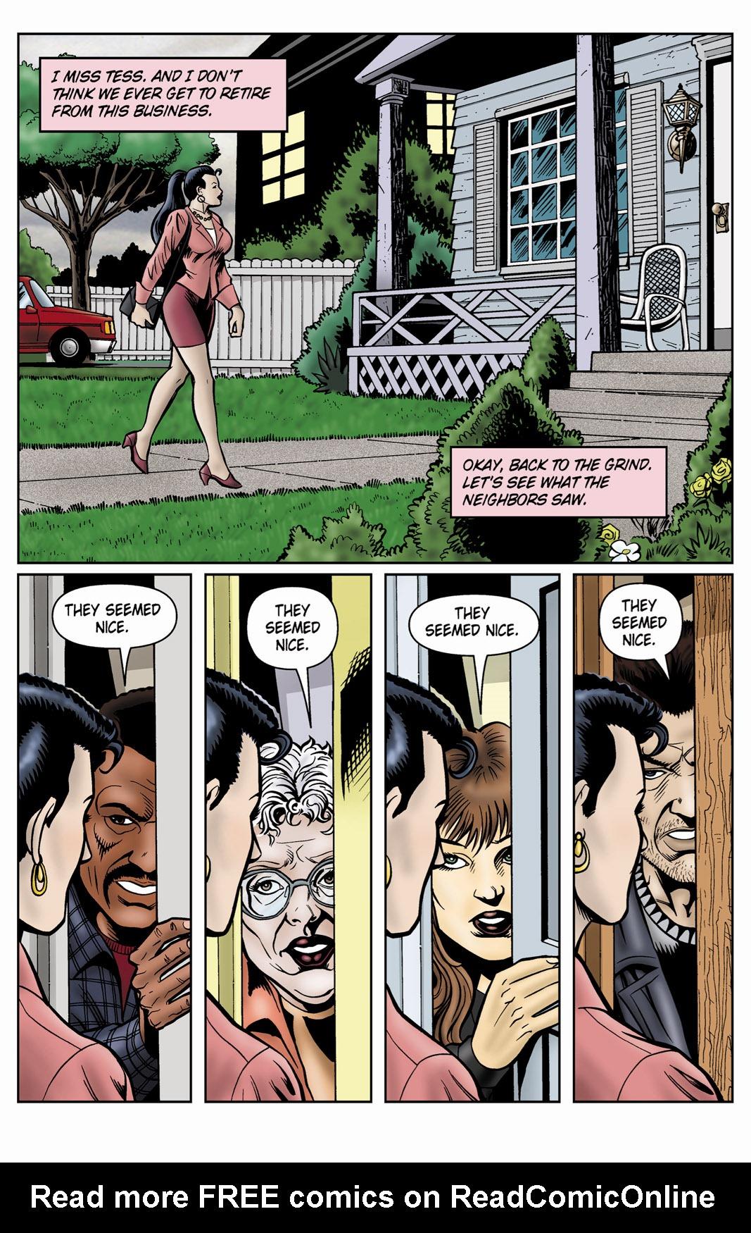 Read online SideChicks comic -  Issue #4 - 21