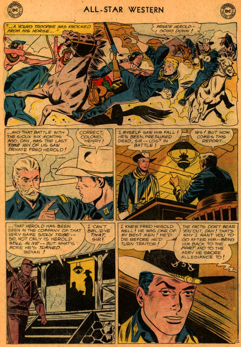 Read online All-Star Western (1951) comic -  Issue #107 - 16