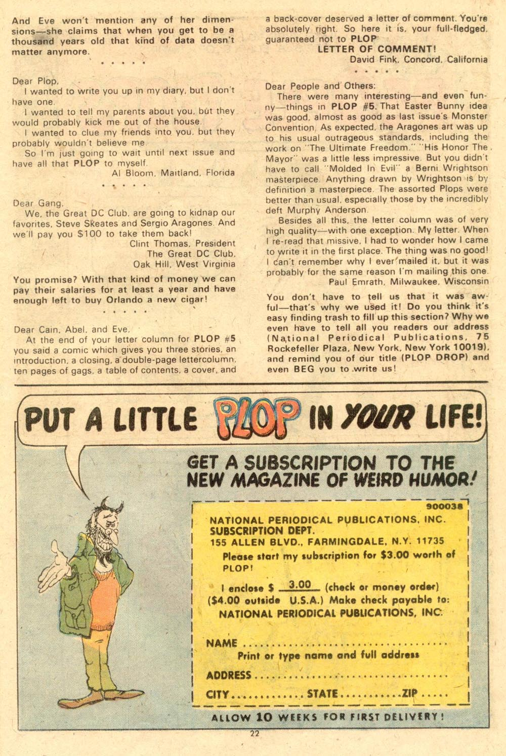 Read online Plop! comic -  Issue #8 - 23