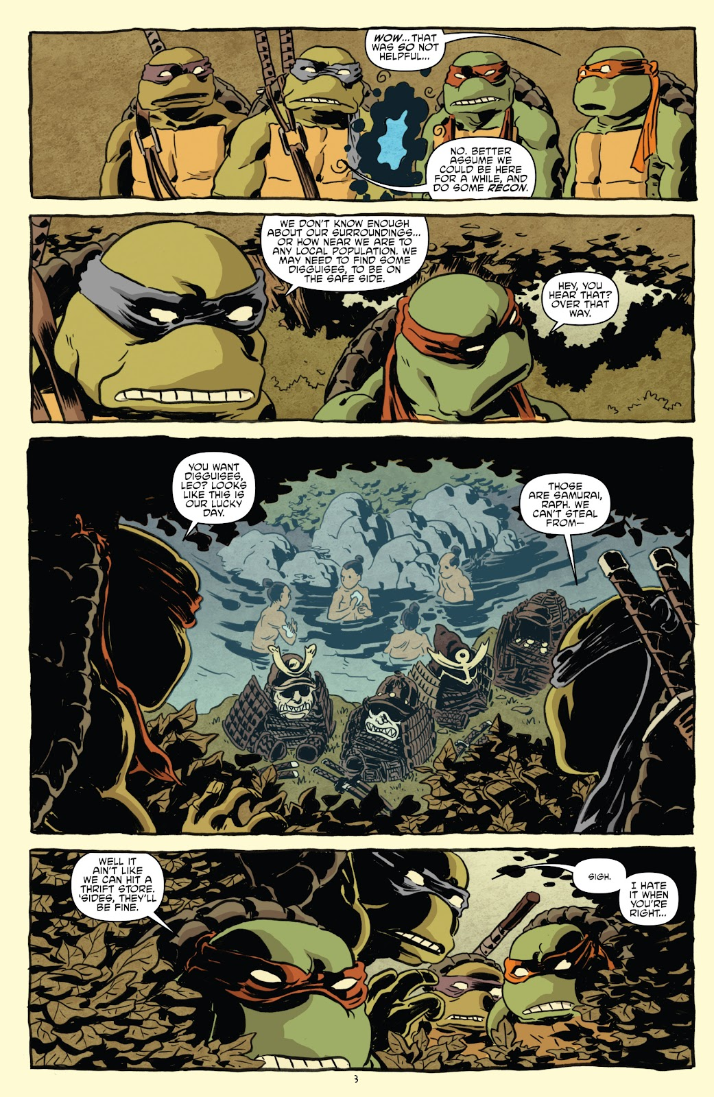 Read online Teenage Mutant Ninja Turtles: The IDW Collection comic -  Issue # TPB 5 (Part 1) - 33