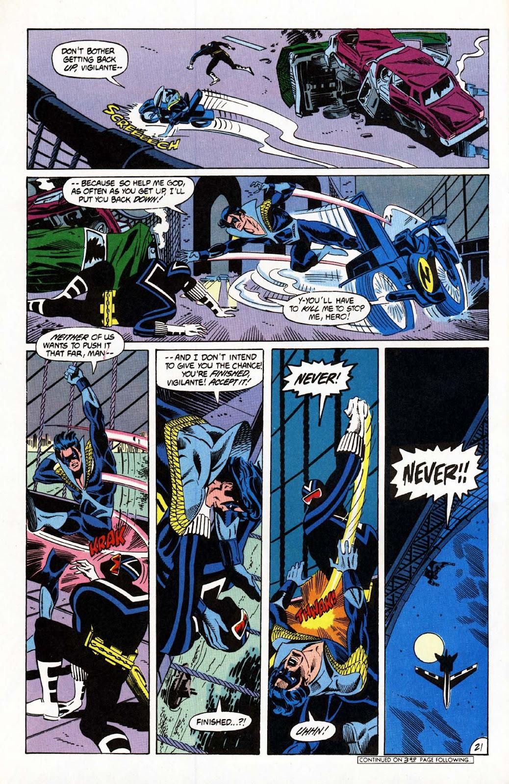 Vigilante (1983) issue 20 - Page 22
