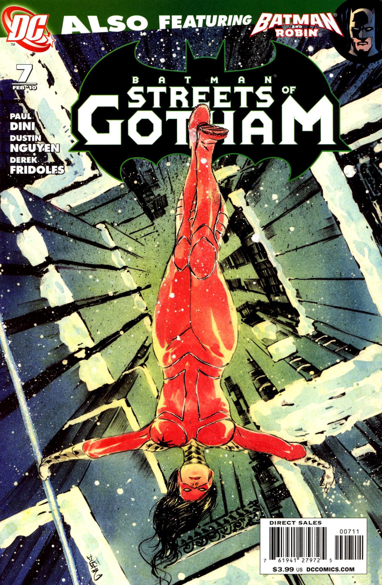 Batman: Streets Of Gotham 7 Page 1