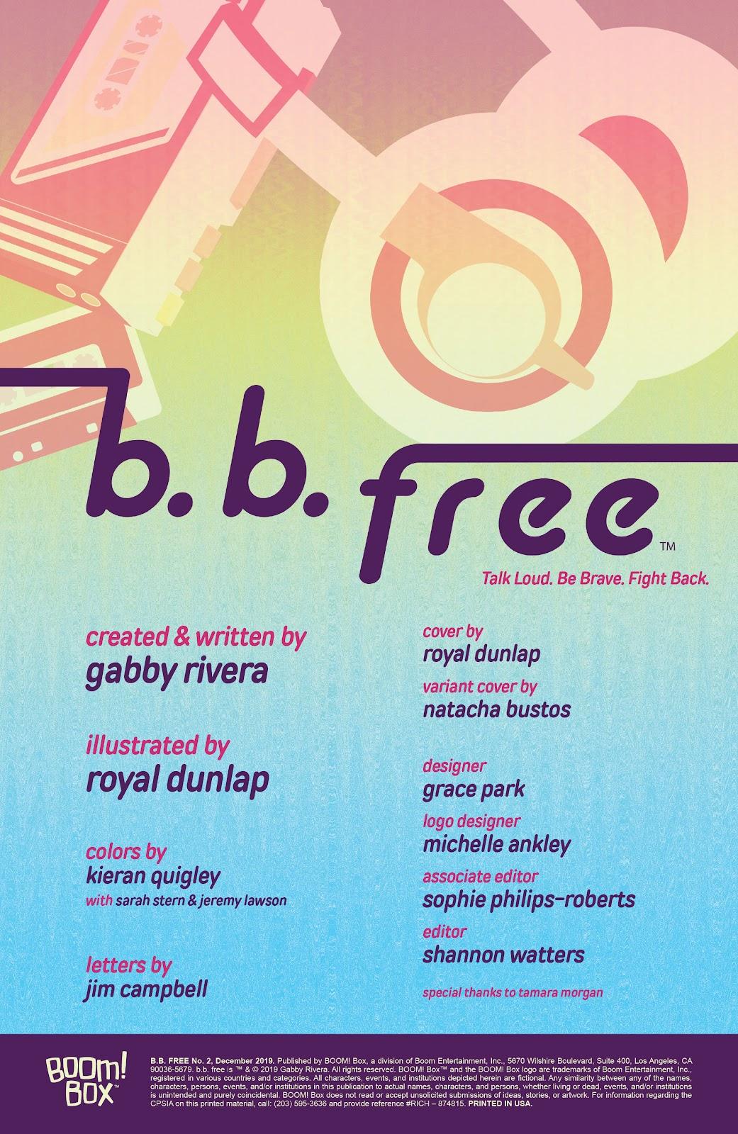 Read online b.b. free comic -  Issue #2 - 2