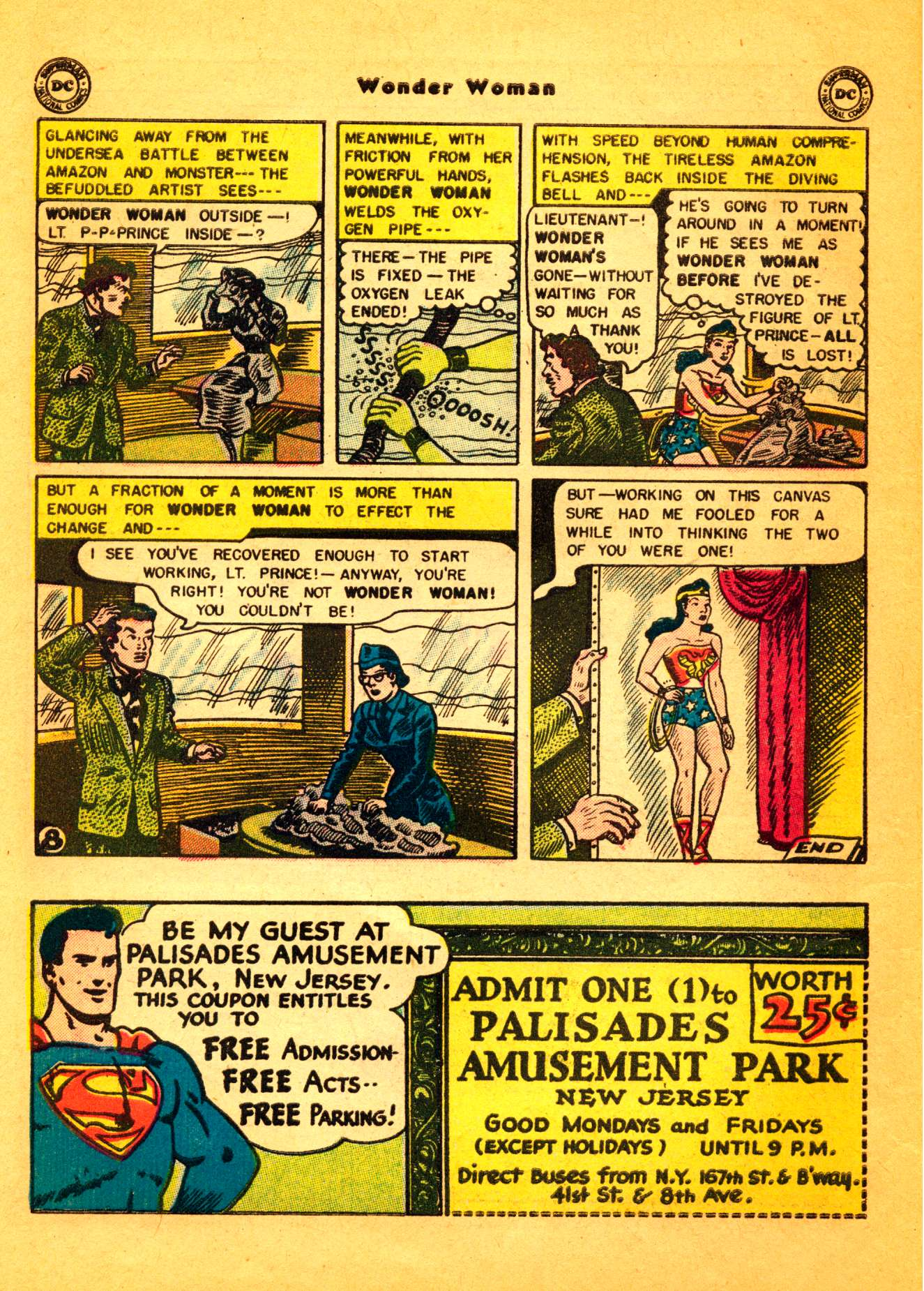 Read online Wonder Woman (1942) comic -  Issue #86 - 9
