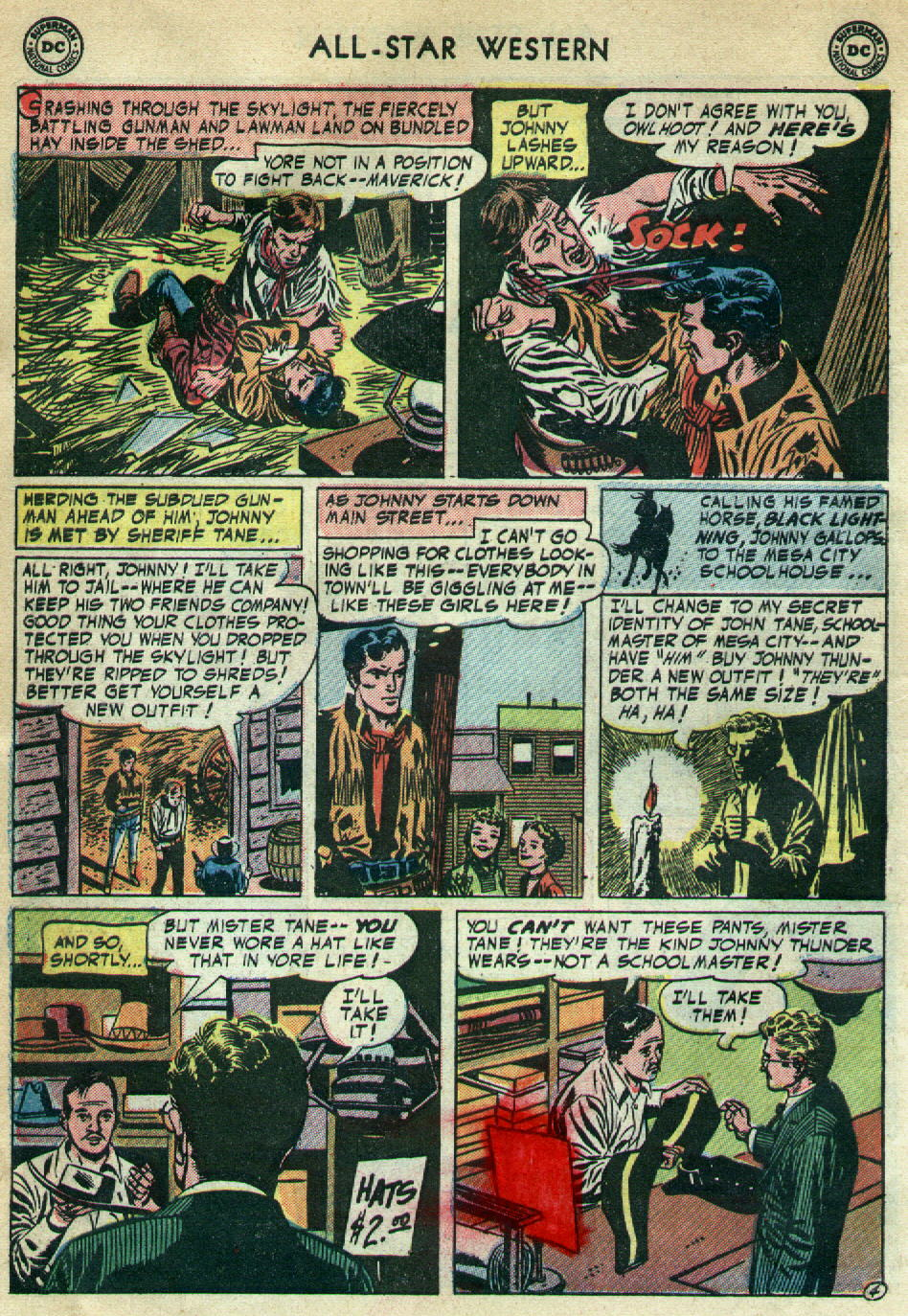 Read online All-Star Western (1951) comic -  Issue #79 - 6