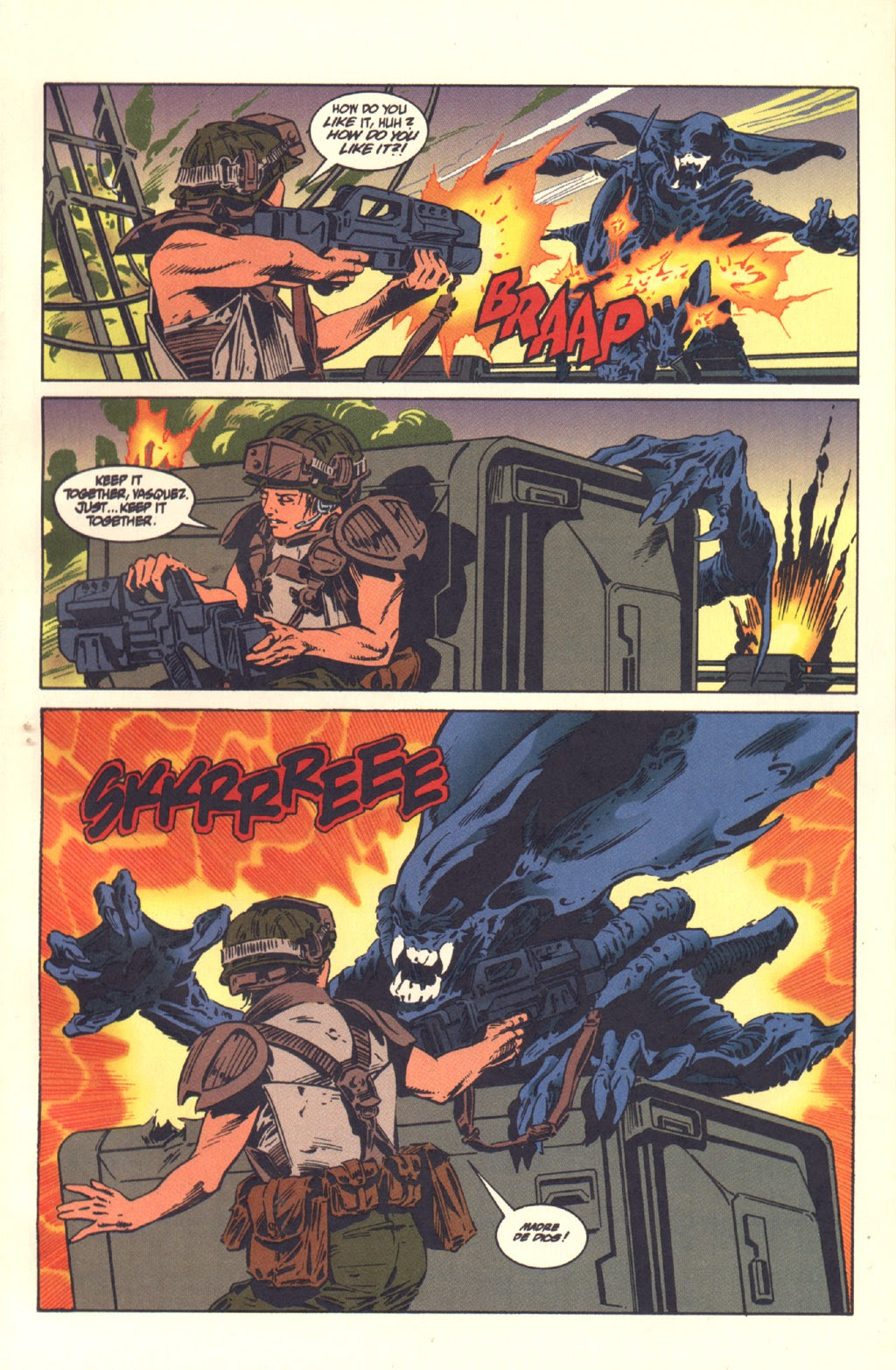 Read online Aliens: Colonial Marines comic -  Issue #6 - 8