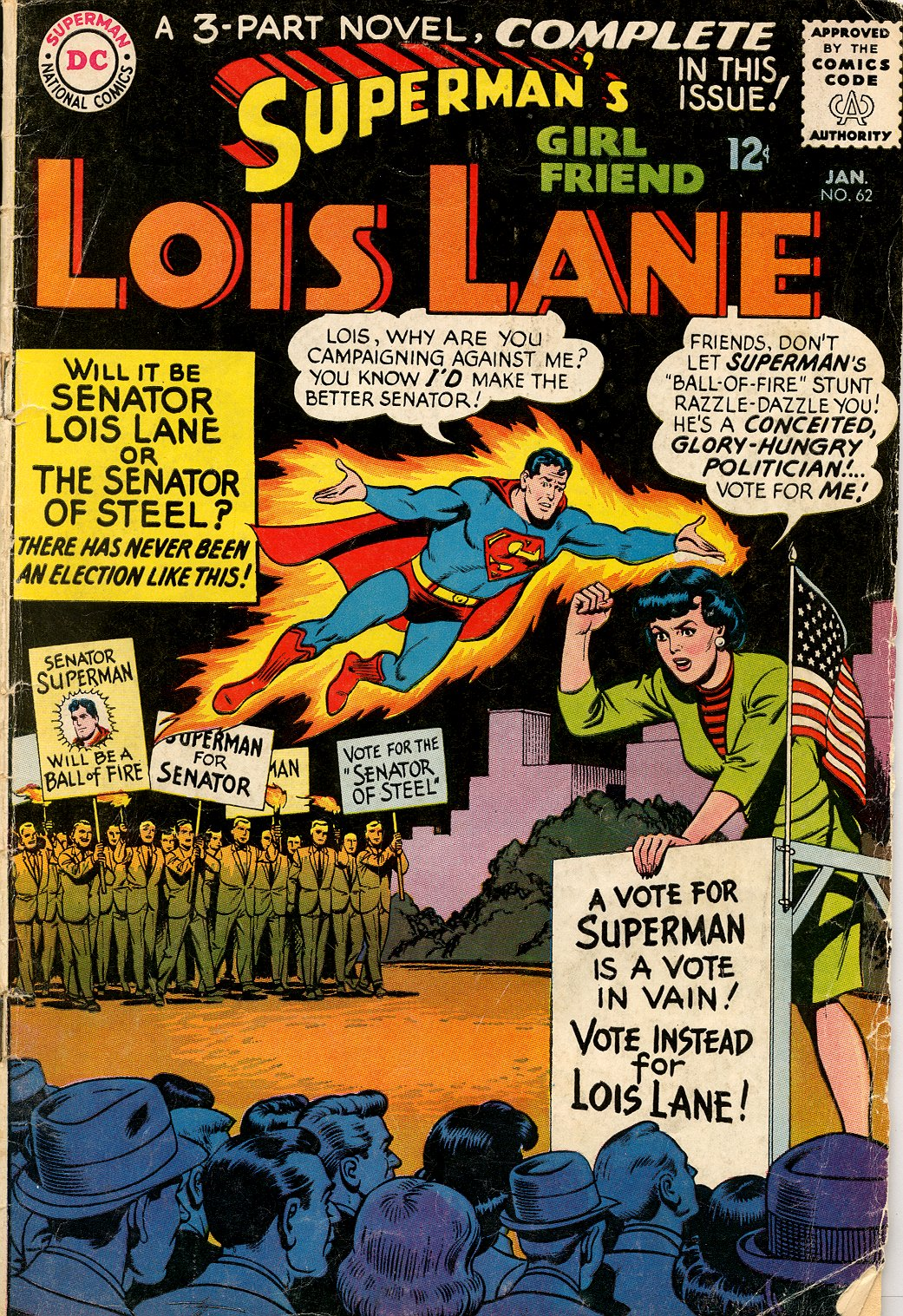 Supermans Girl Friend, Lois Lane 62 Page 1