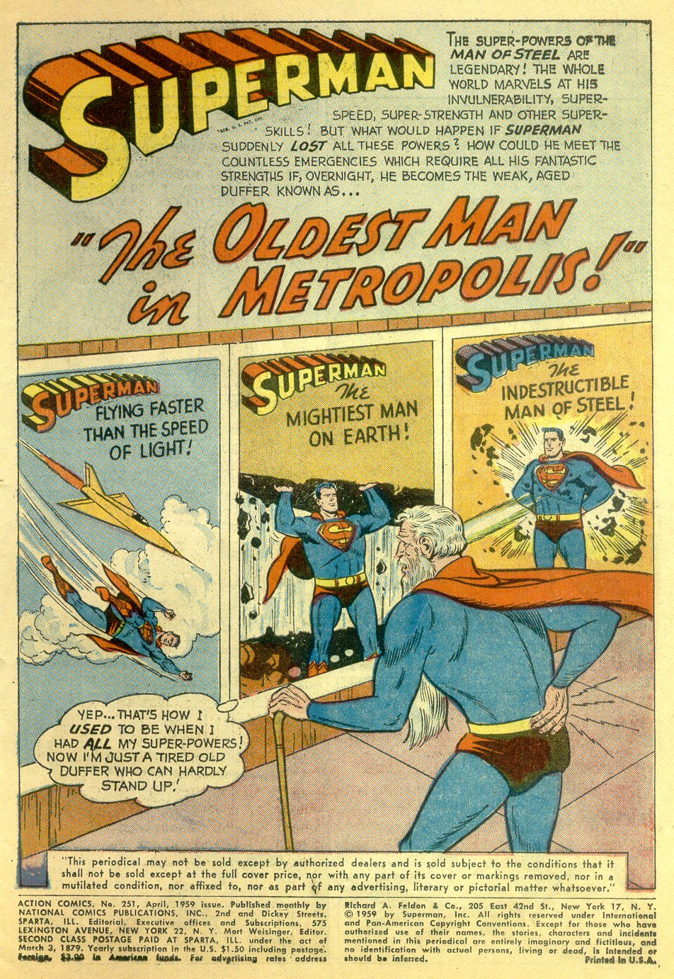 Read online Action Comics (1938) comic -  Issue #251 - 3