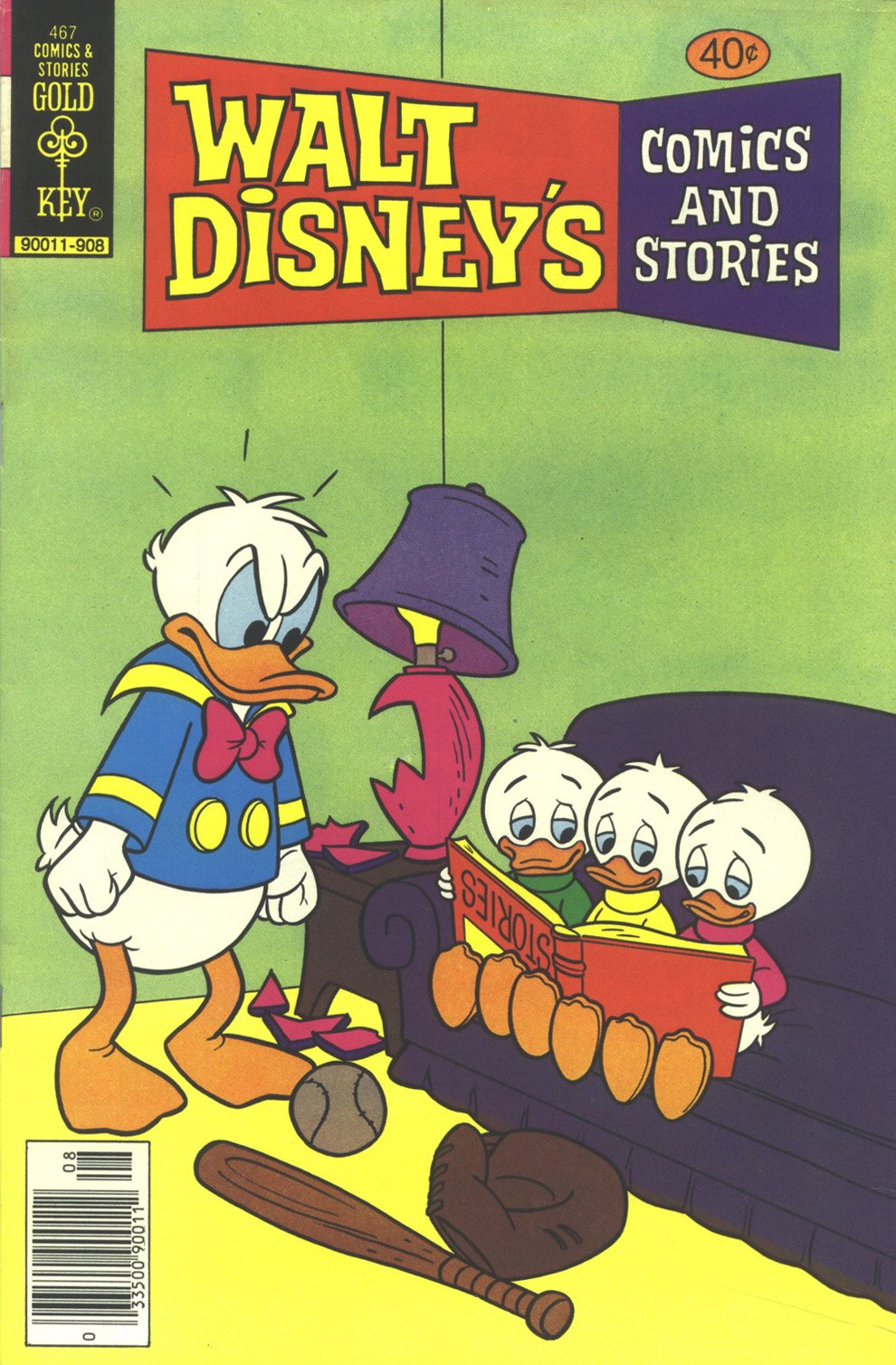 Walt Disney's Comics and Stories issue 467 - Page 1