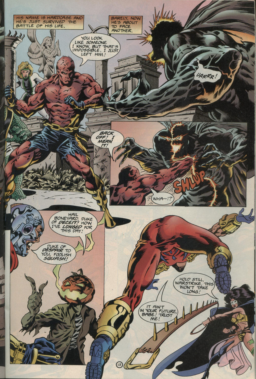Read online Godwheel comic -  Issue #1 - 16