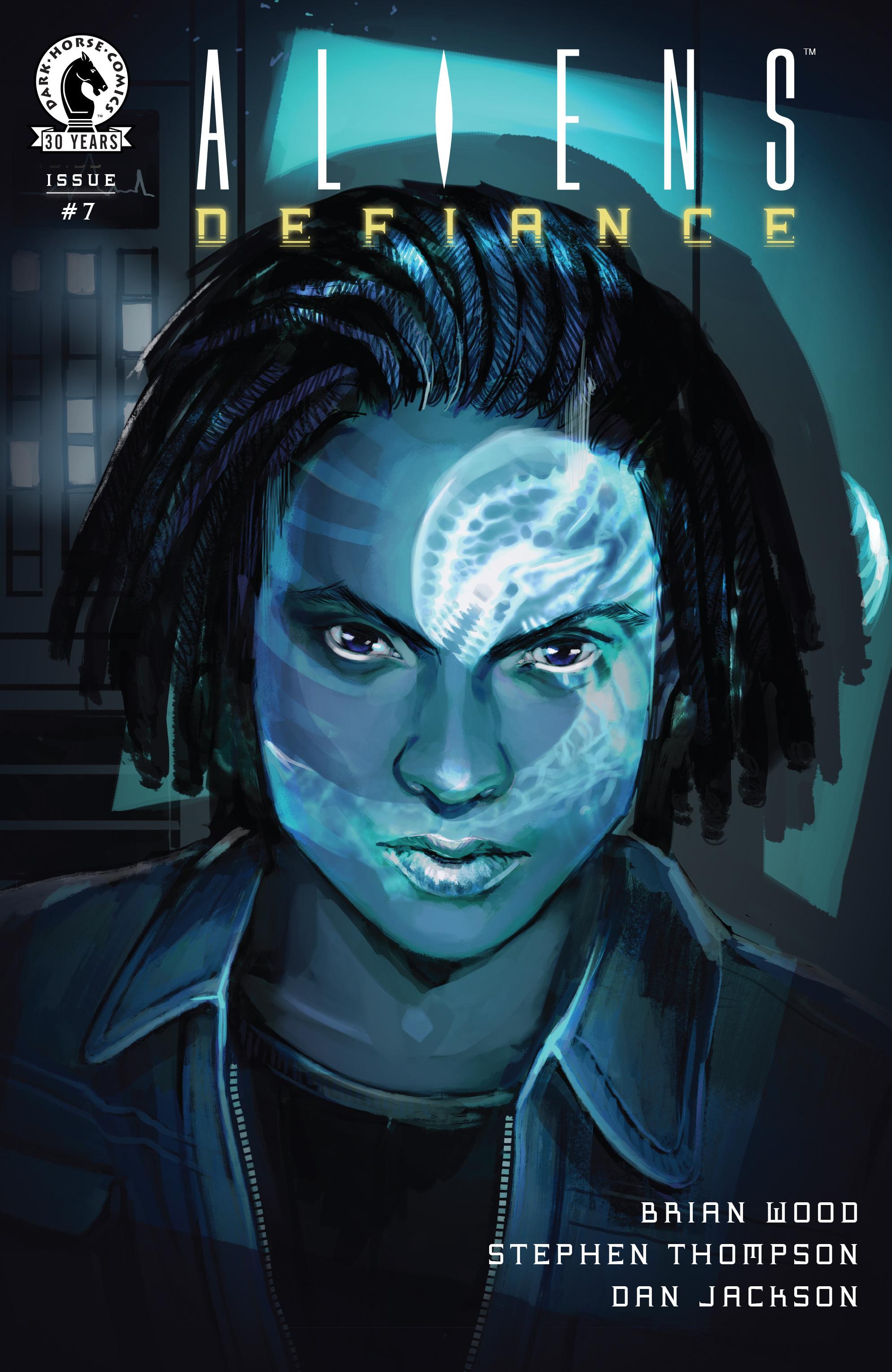 Read online Aliens: Defiance comic -  Issue #7 - 1