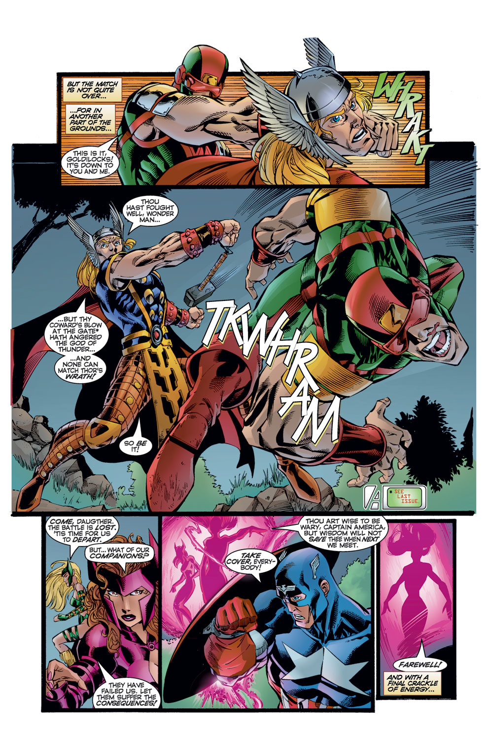 Read online Avengers (1996) comic -  Issue #8 - 8