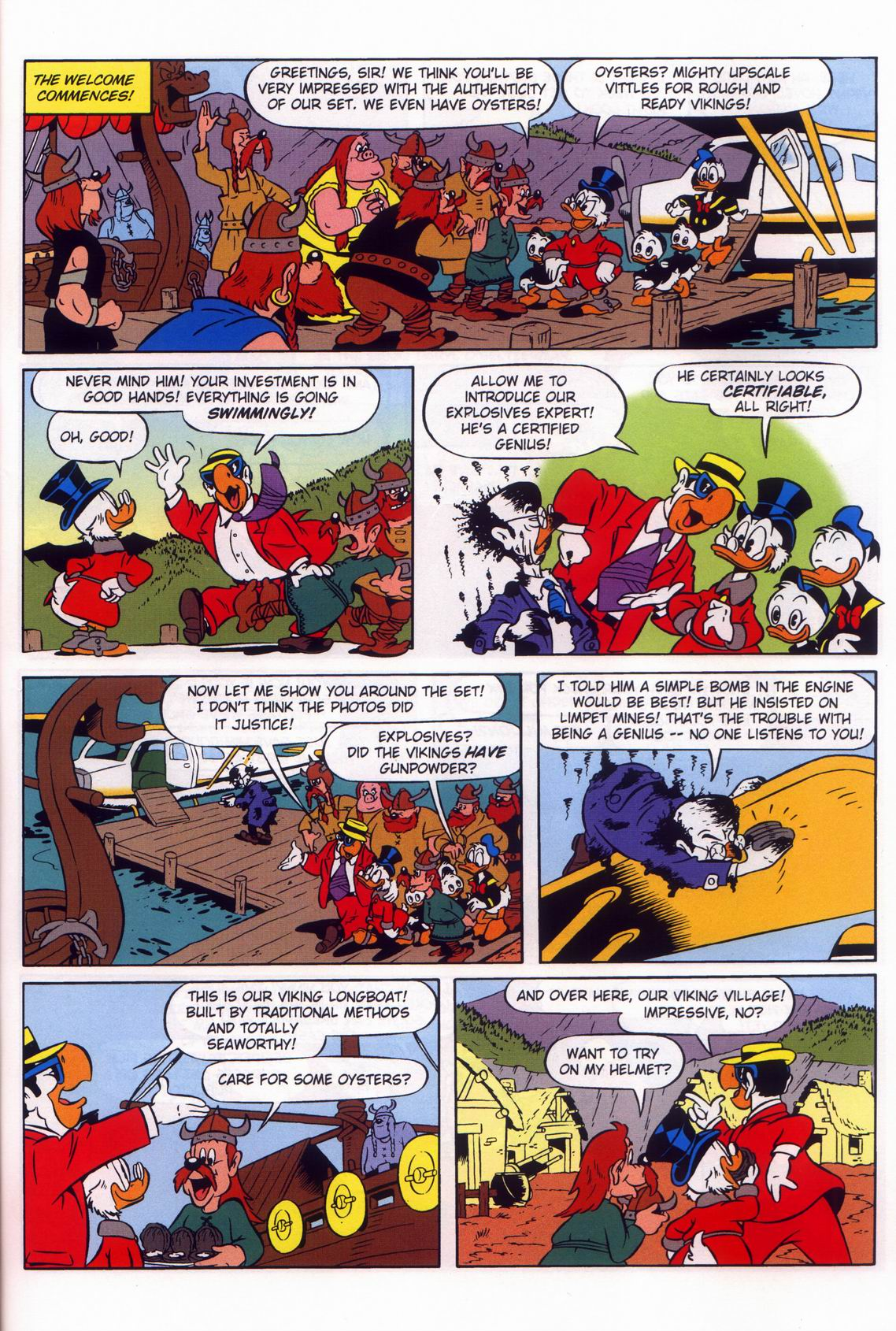 Read online Uncle Scrooge (1953) comic -  Issue #316 - 41