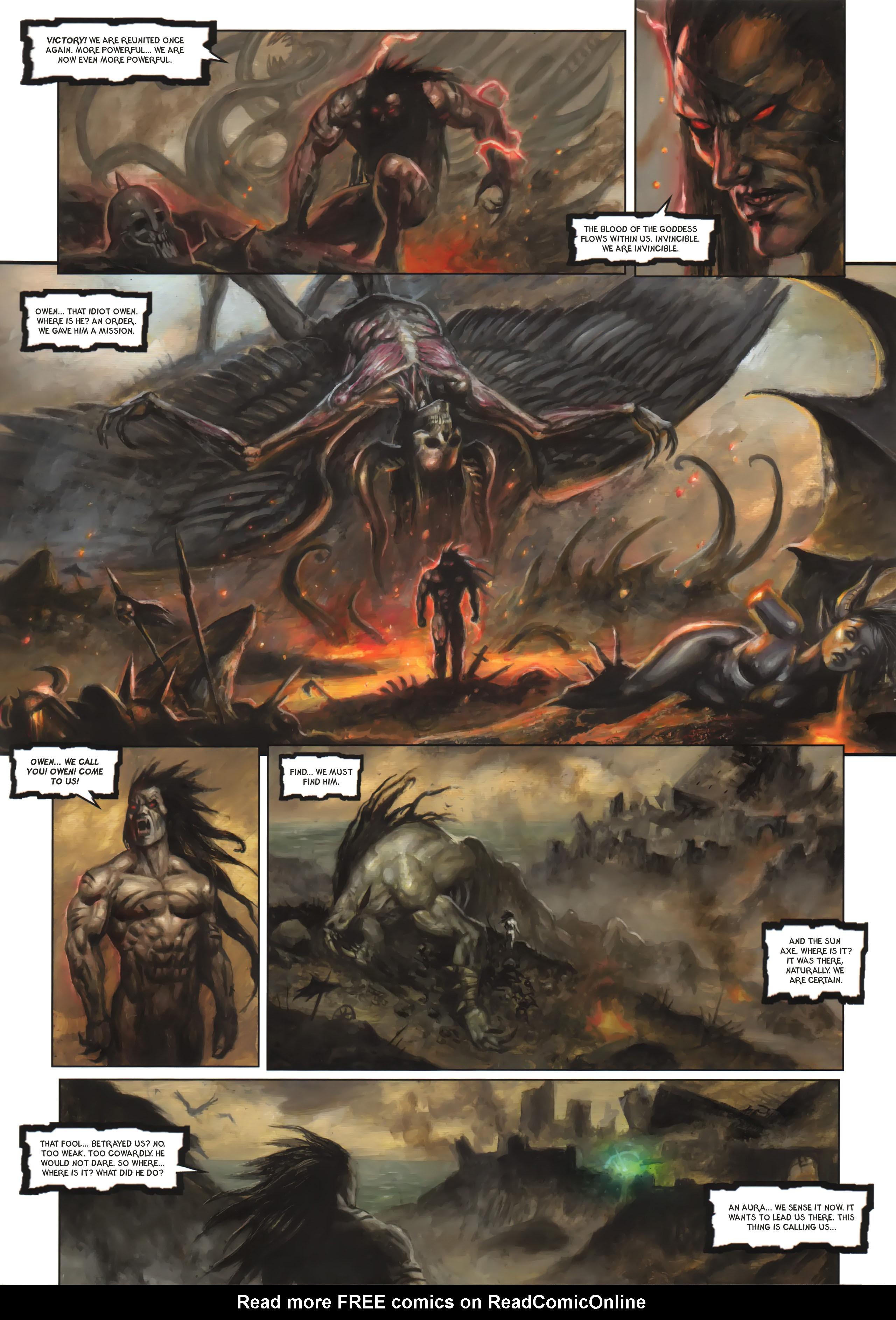Read online Arawn comic -  Issue #6 - 6
