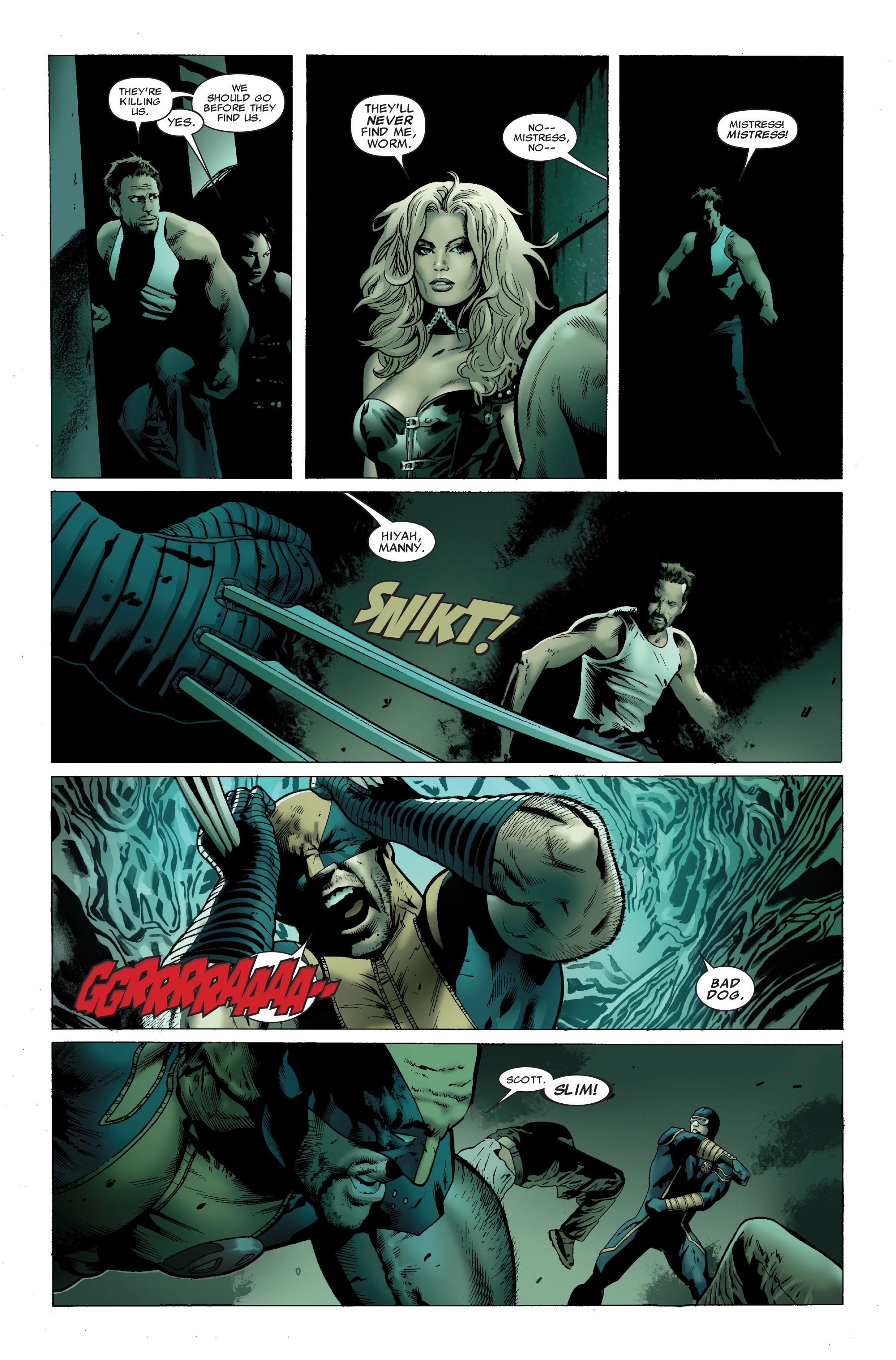 Read online Uncanny X-Men (1963) comic -  Issue #502 - 20