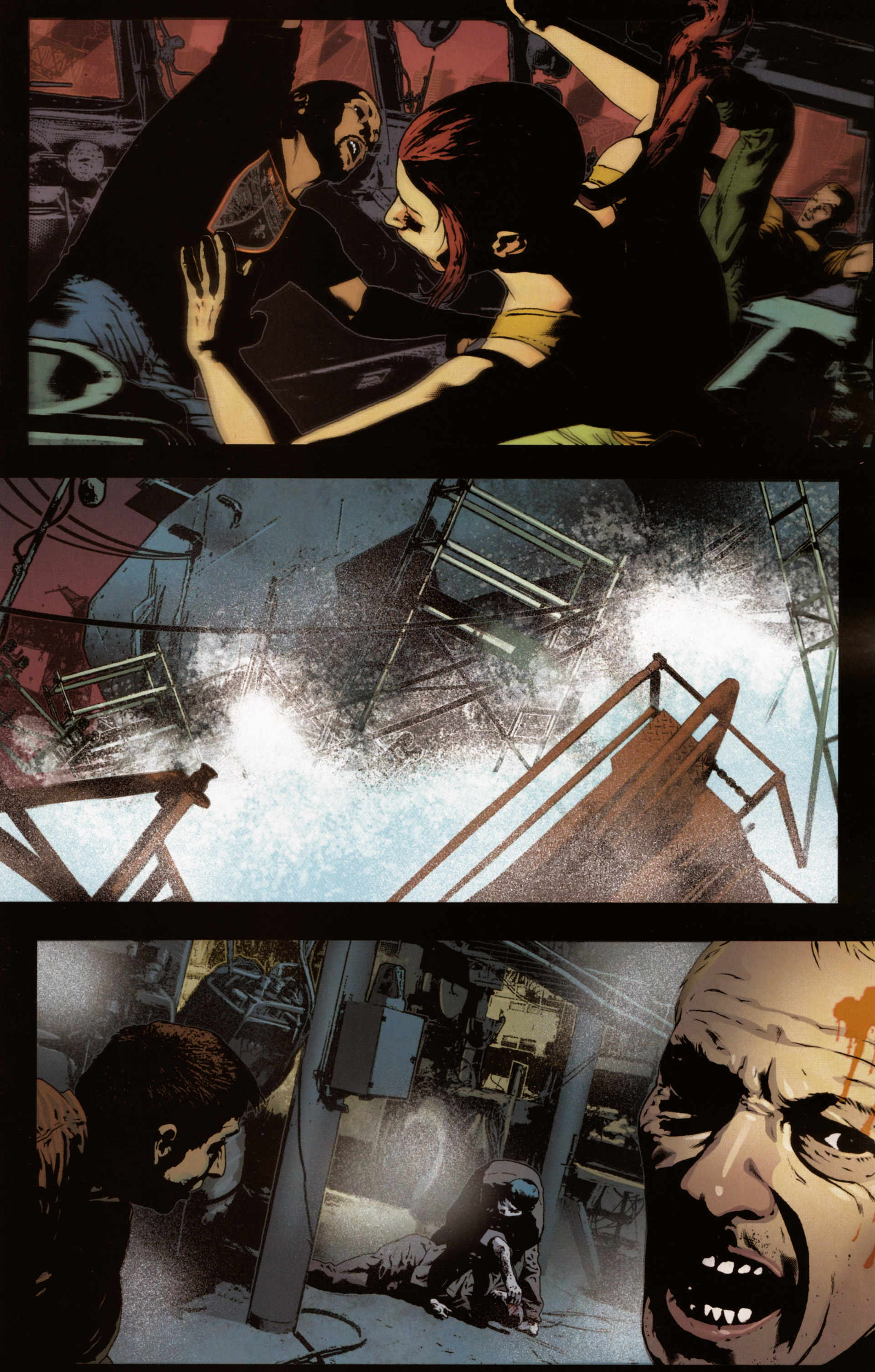 Read online Snake Eyes and Storm Shadow comic -  Issue #20 - 9