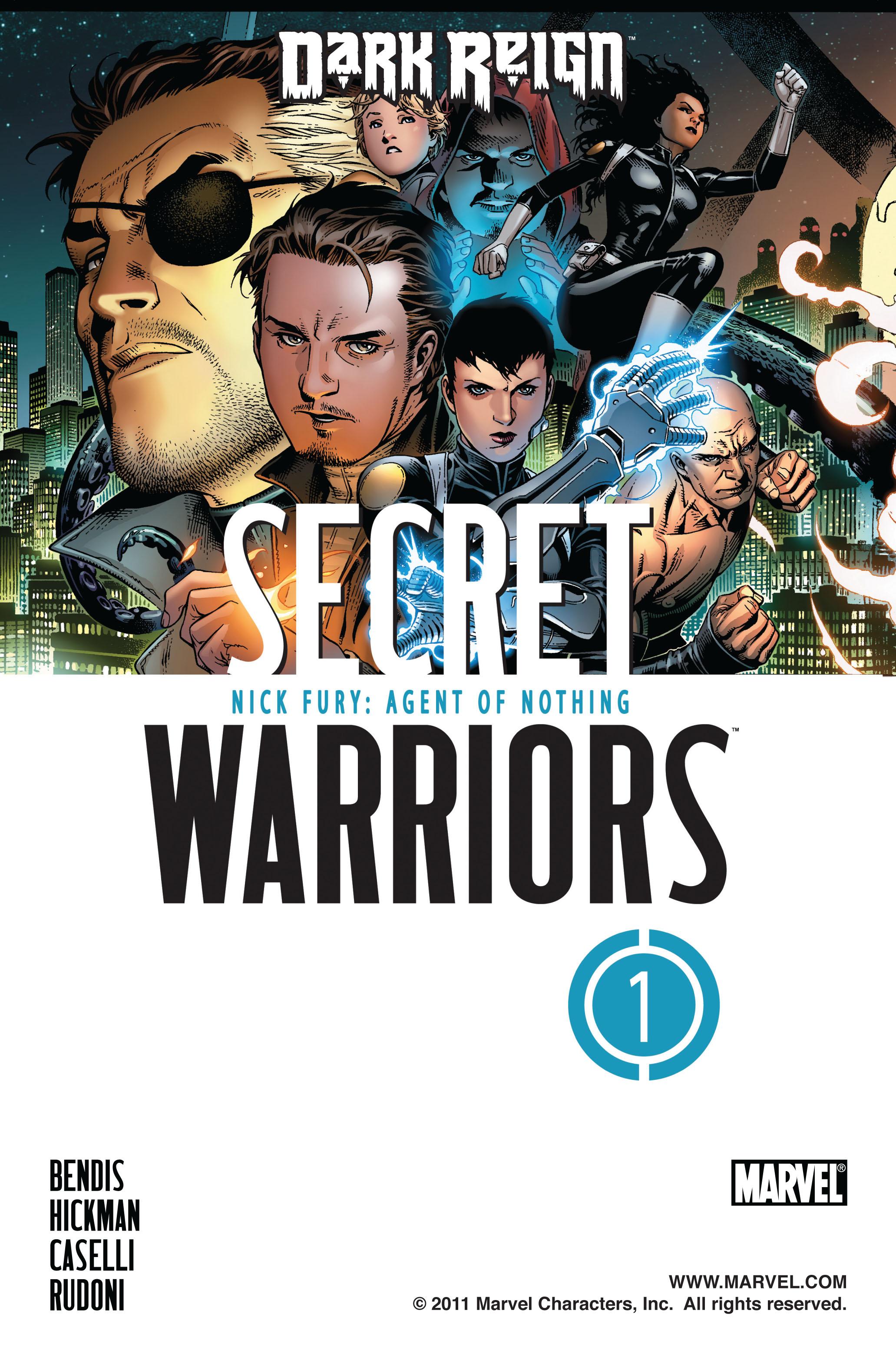 Read online Secret Warriors comic -  Issue #1 - 2