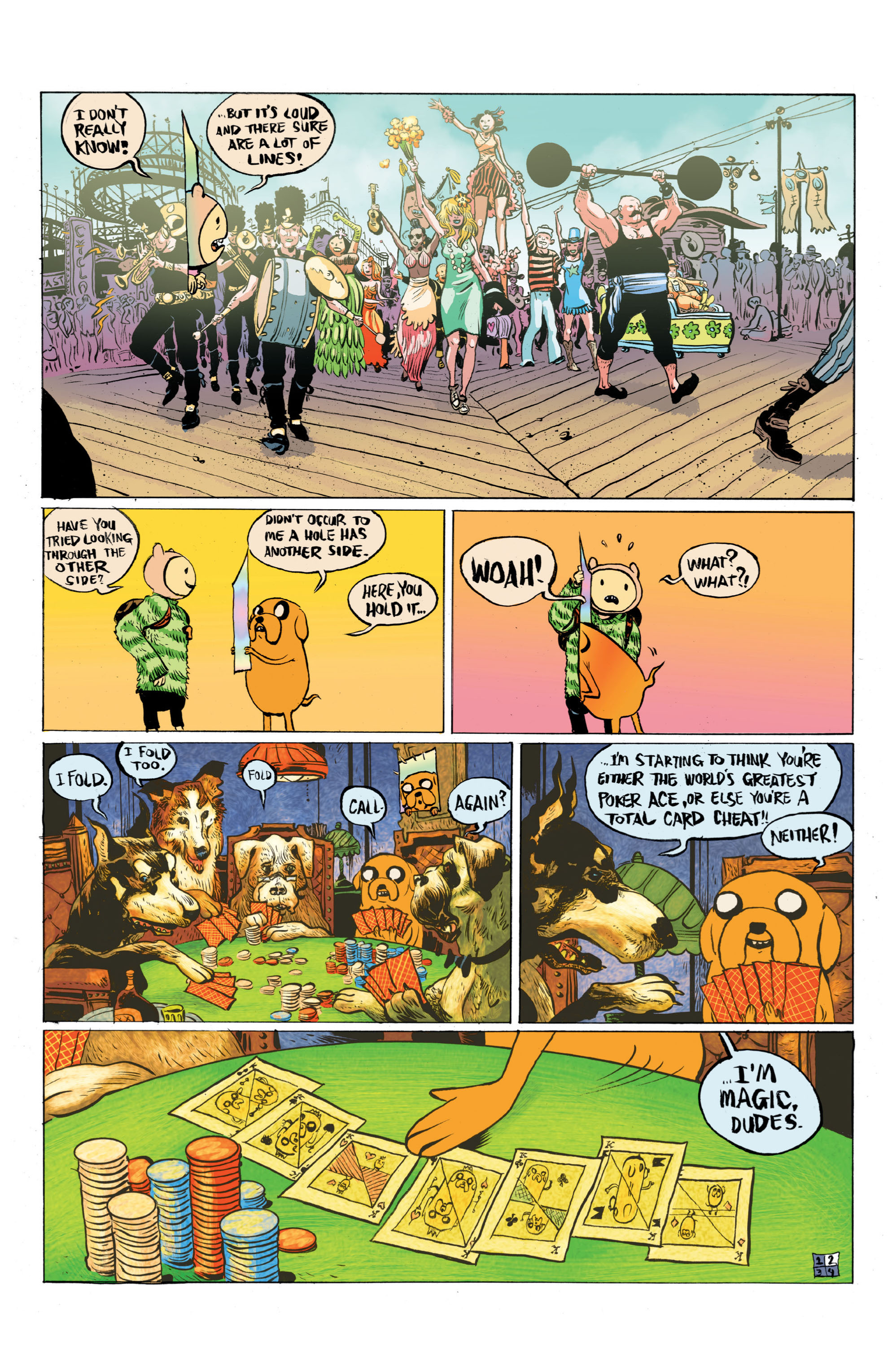 Read online Adventure Time comic -  Issue #5 - 25