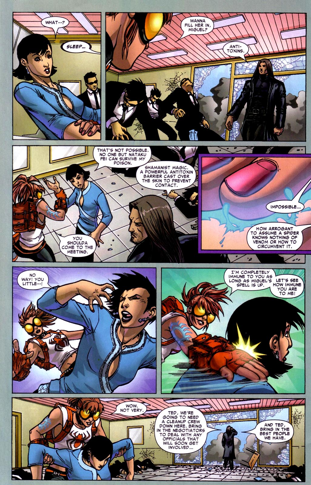 Read online Araña: Heart of the Spider comic -  Issue #7 - 22