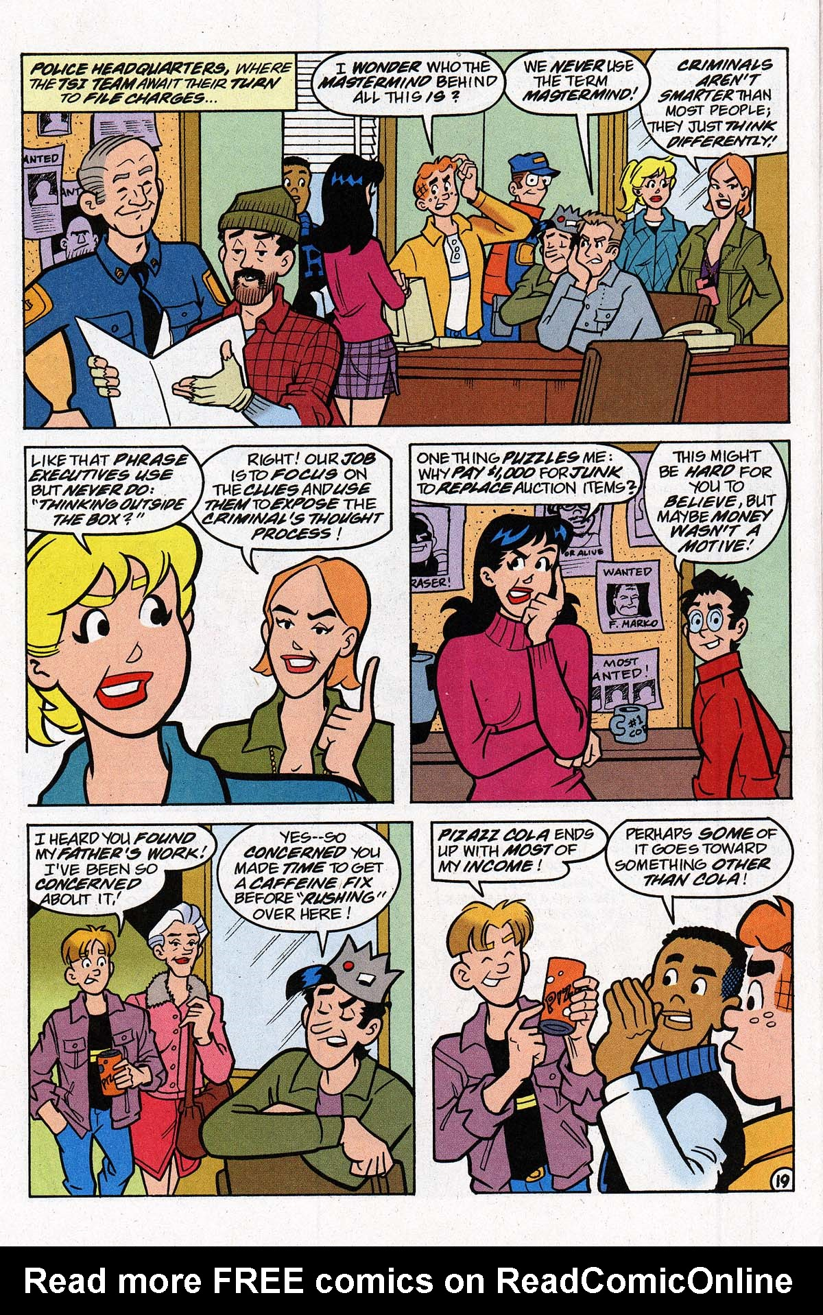 Read online Archie's Weird Mysteries comic -  Issue #27 - 26