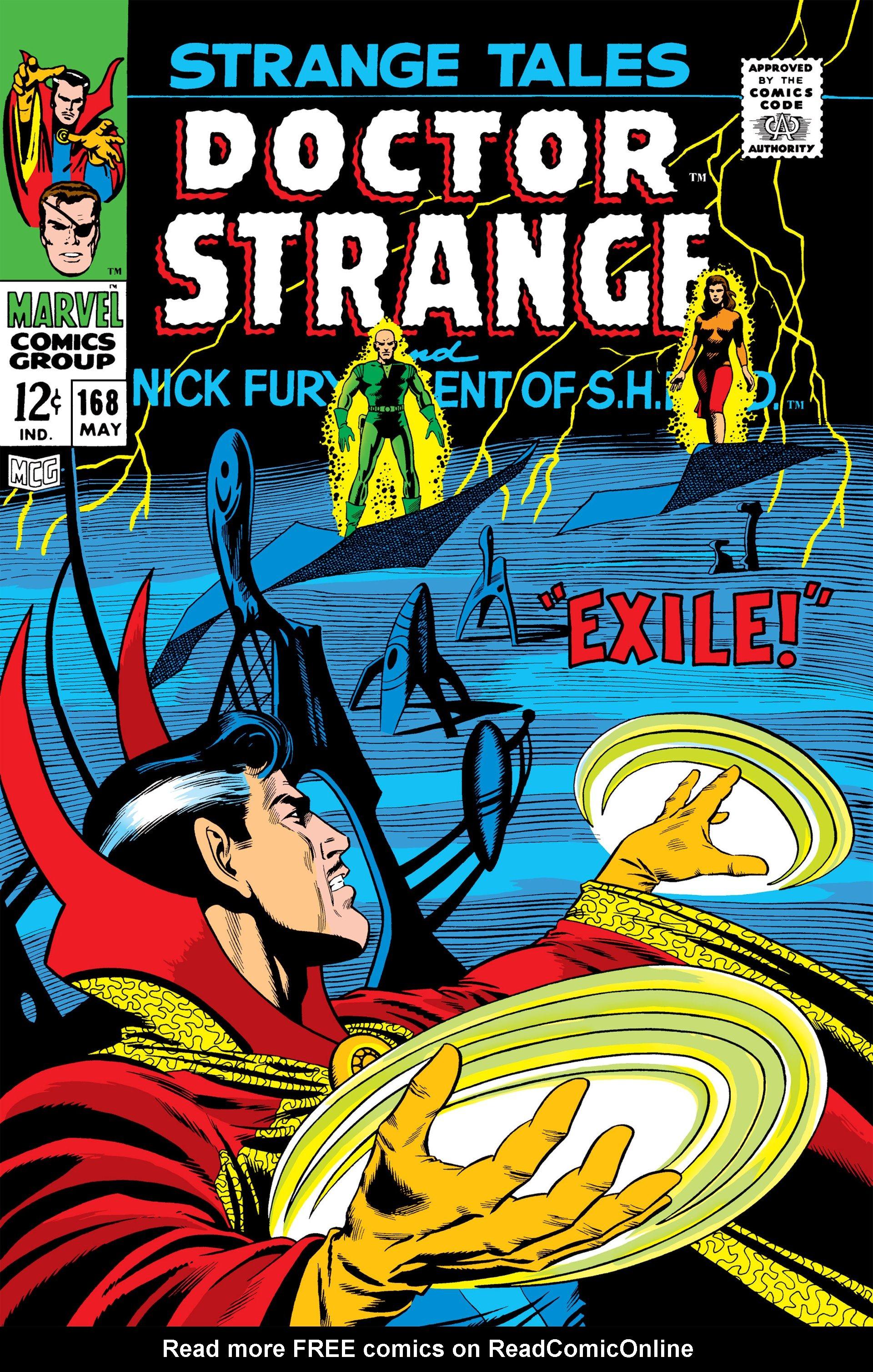 Strange Tales (1951) 168 Page 1