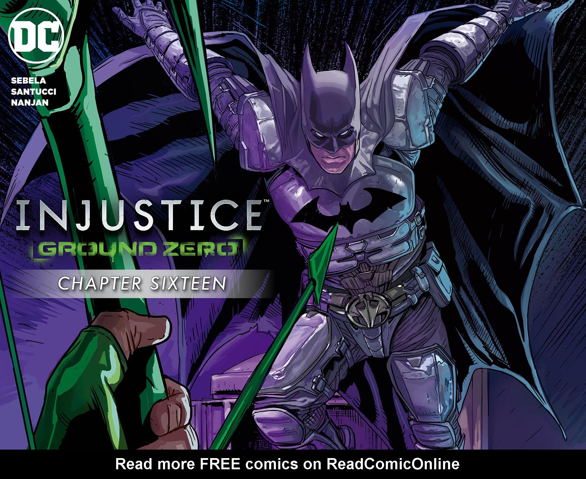 Read online Injustice: Ground Zero comic -  Issue #16 - 1