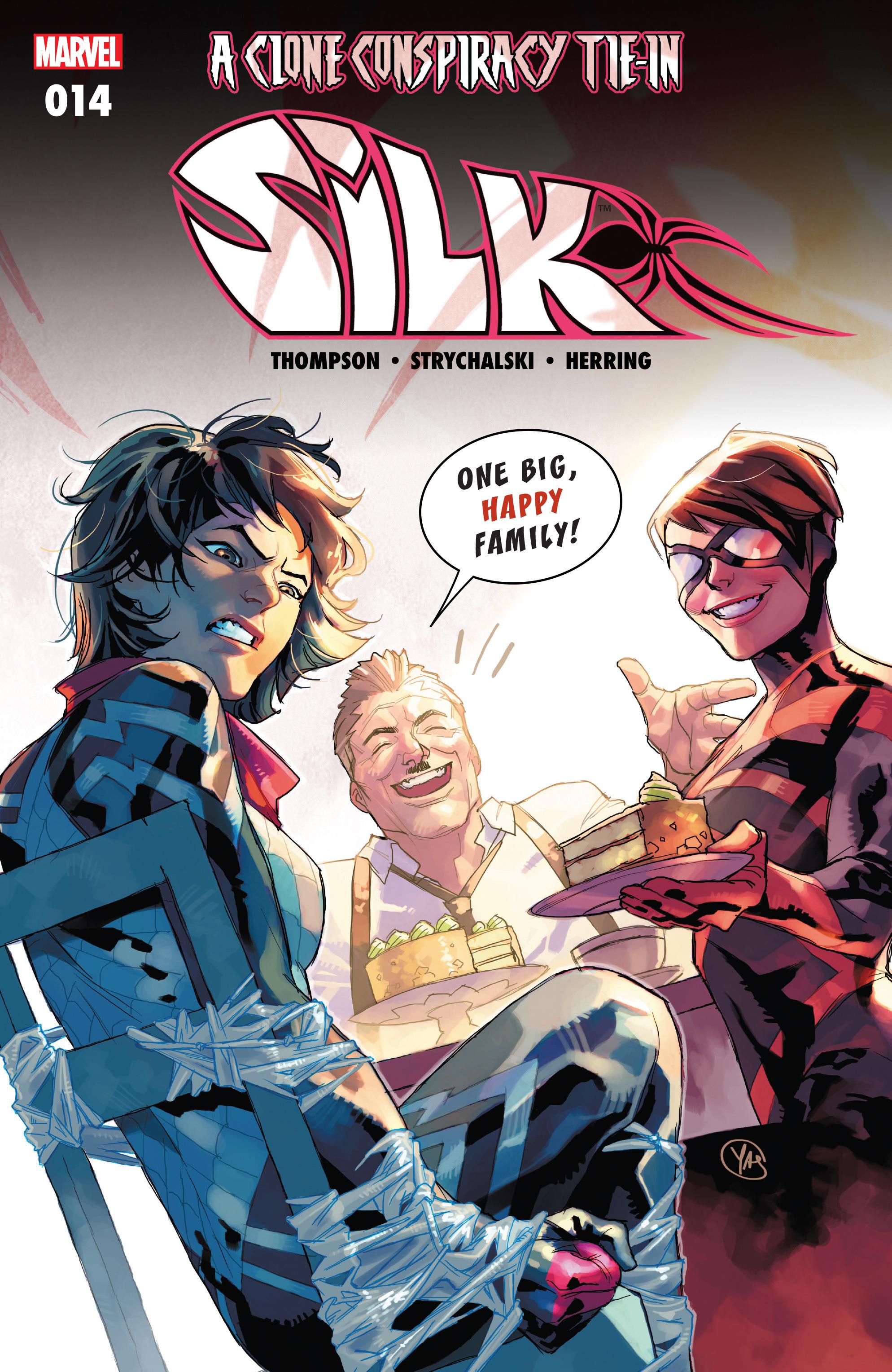 Read online Silk (2016) comic -  Issue #14 - 1